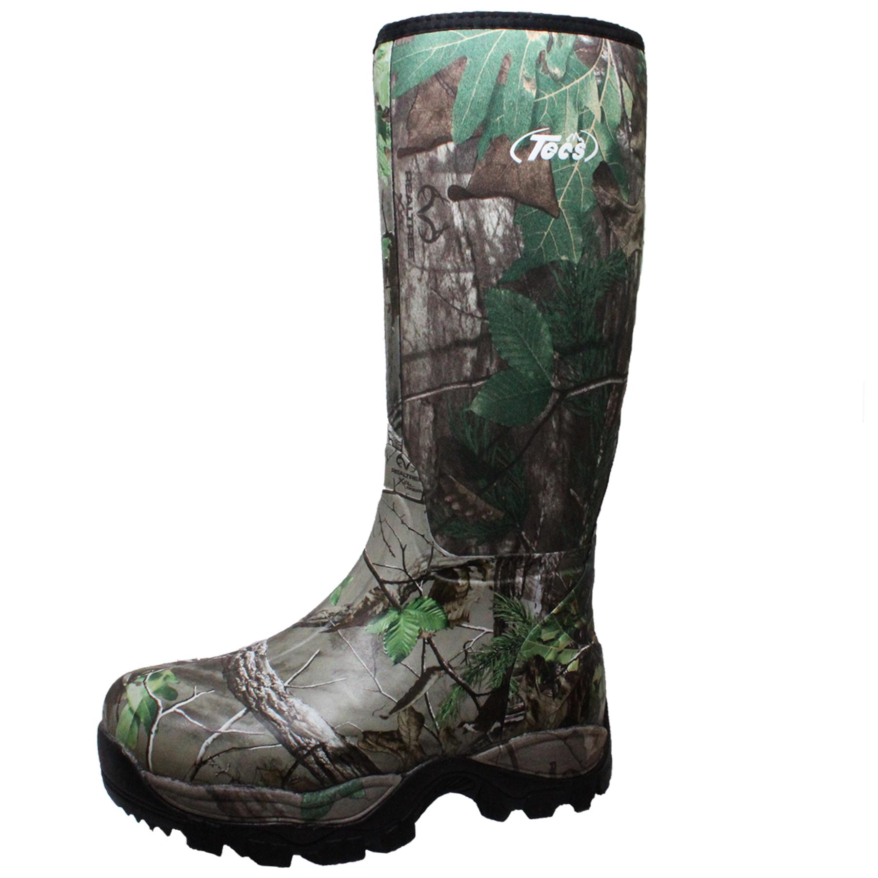 Tecs Men S 16 Quot Waterproof Rubber Boot Camo