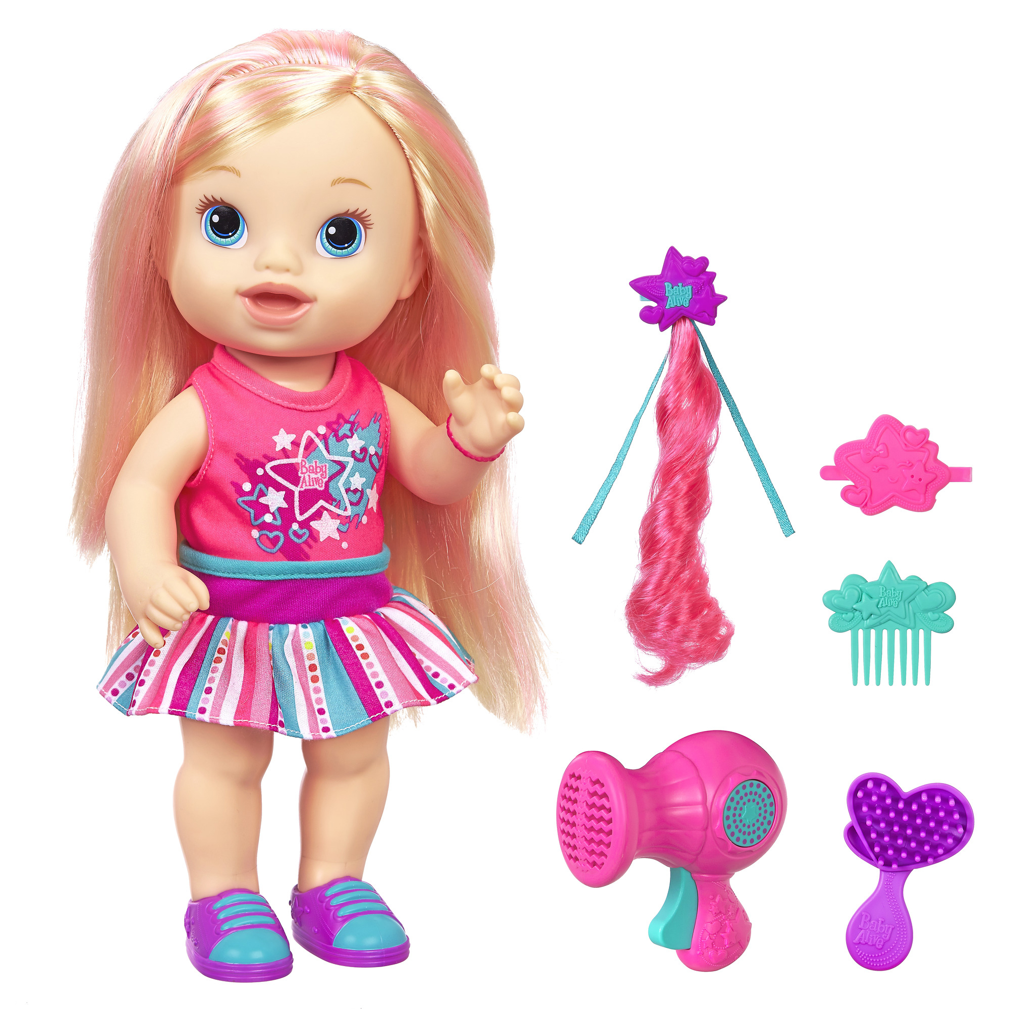 Baby Alive Play N Style Christina Doll Blonde Shop