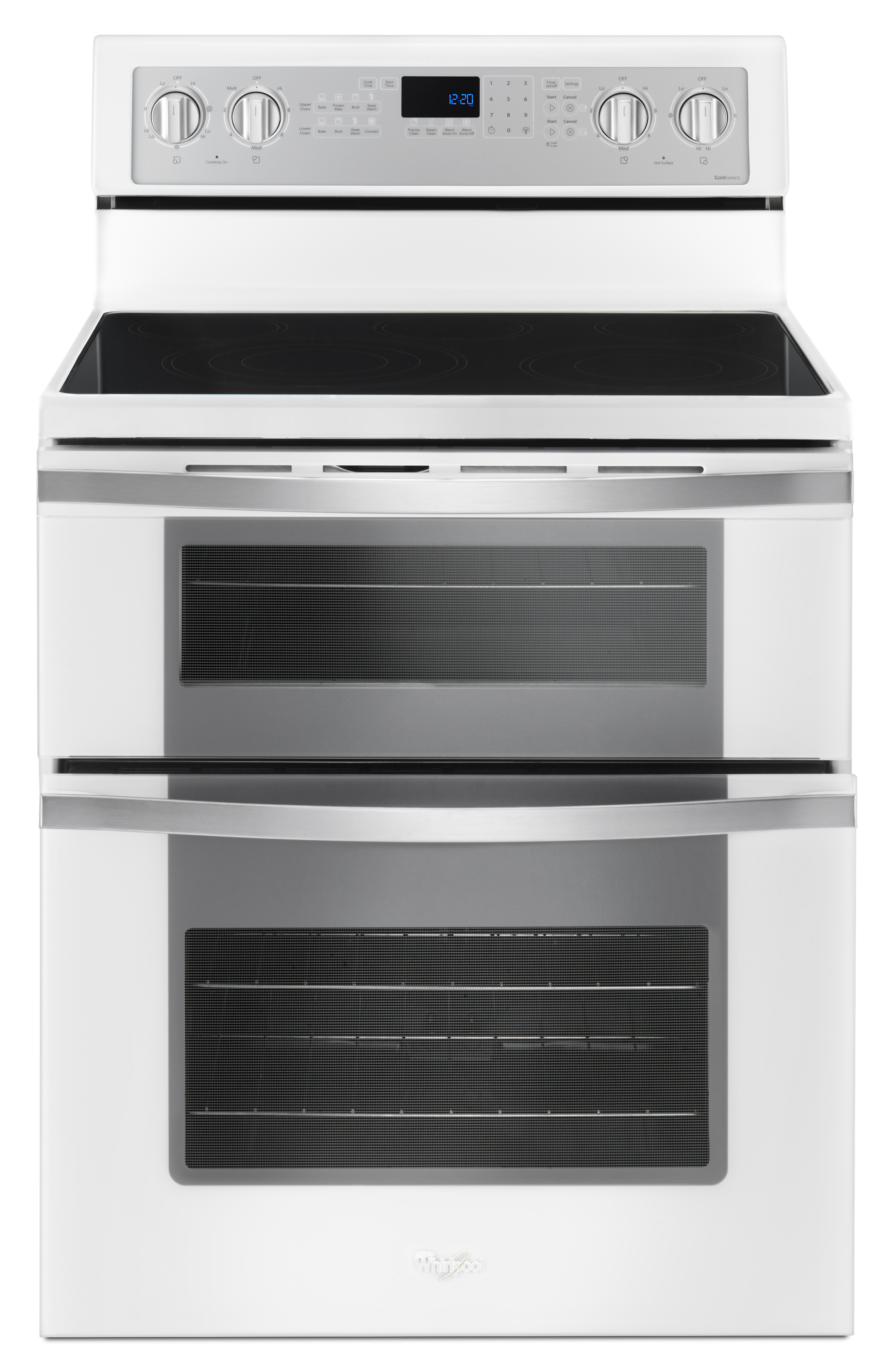 Whirlpool WGE745C0FH 67 Cu Ft Electric Double Oven