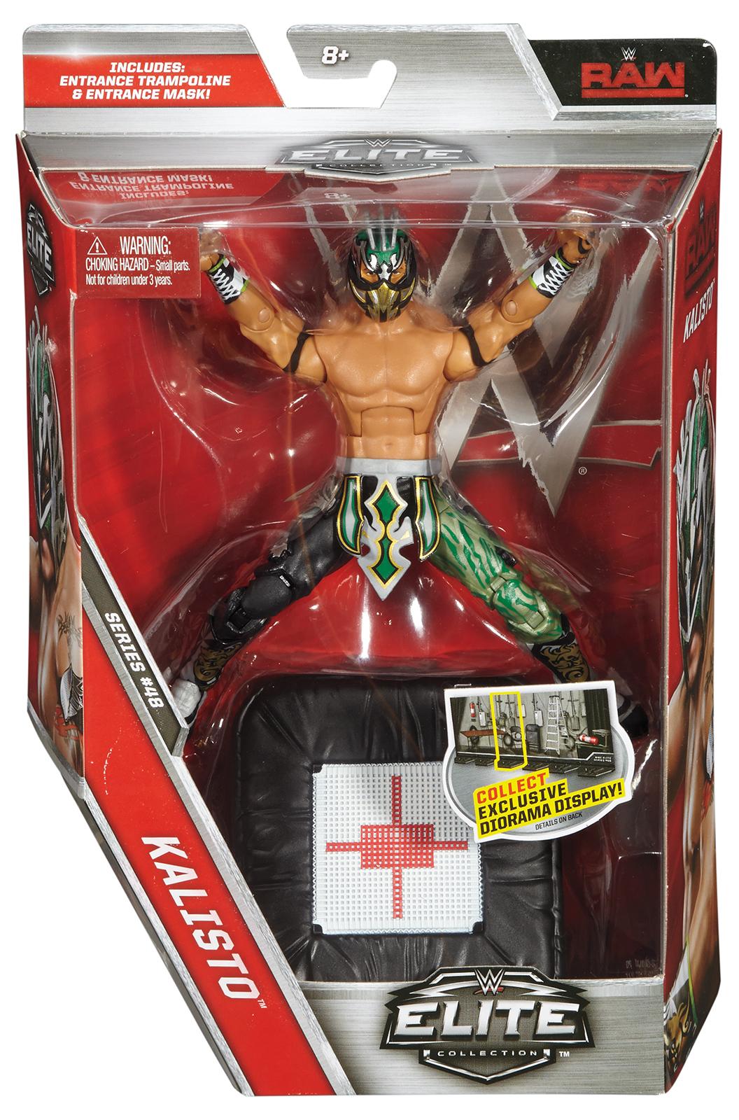 WWE Kalisto Elite 48 Toy Wrestling Action Figure