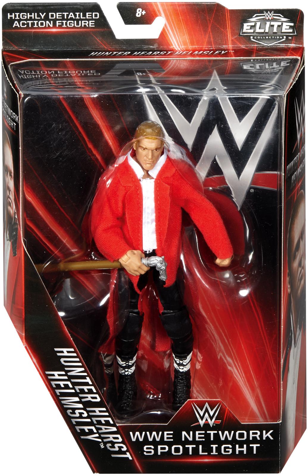 WWE Triple H Network Spotlight Elite Exclusive Toy Wrestling Action Figure