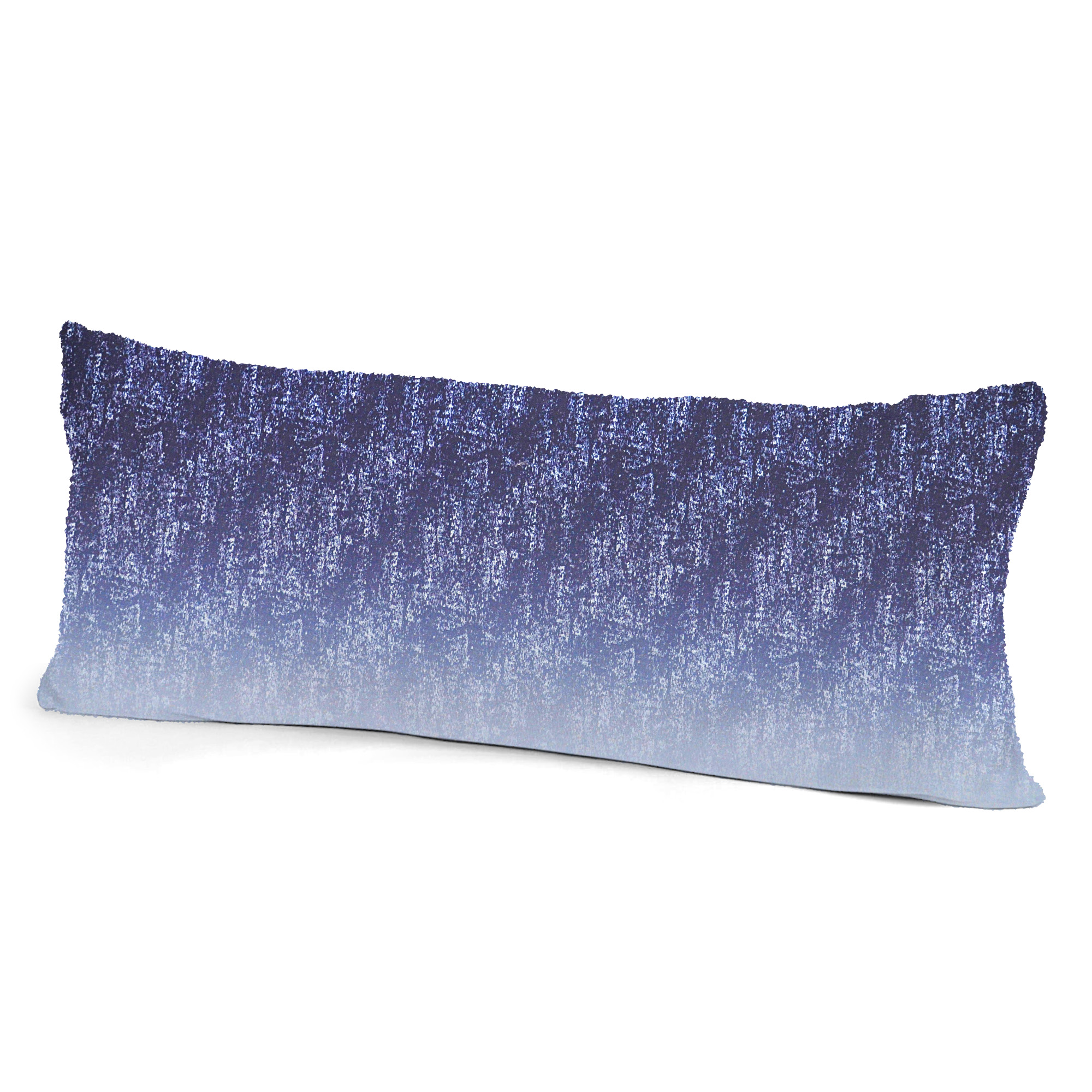 Colormate Acid Microfiber Body Pillow Cover Blue Indigo