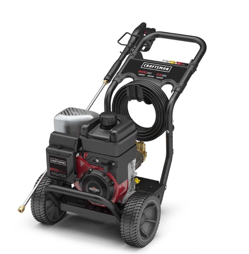craftsman 75244 3400 psi gas pressure washer