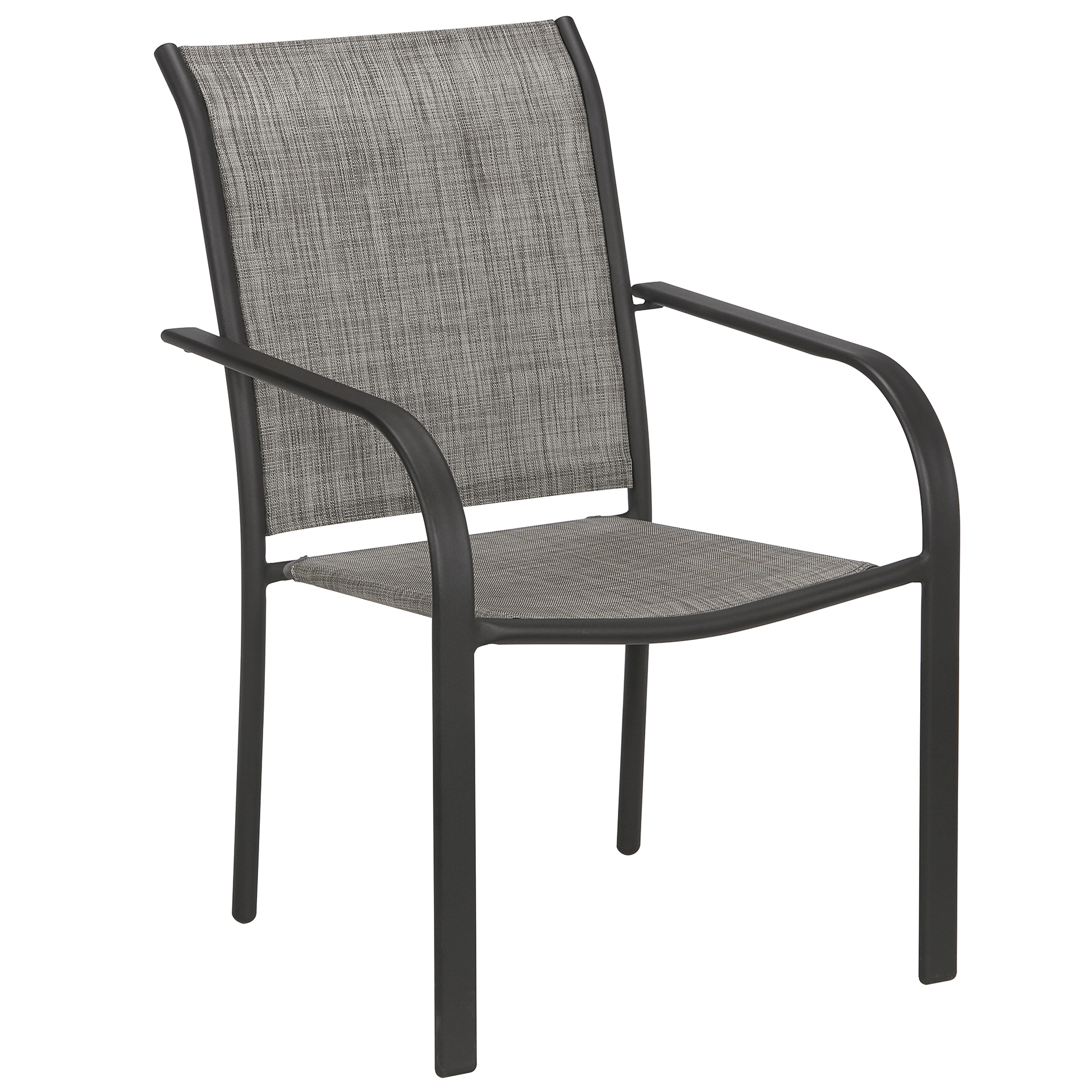 Essential Garden Bartlett Stackable Chair Brown Kmart