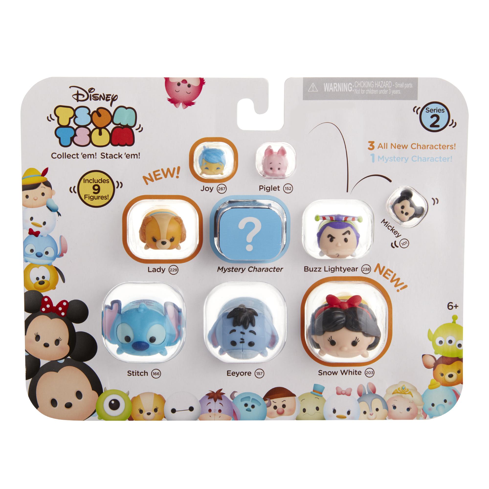 Disney Tsum Tsum 9 Pk Series 2 Snow White Eeyore