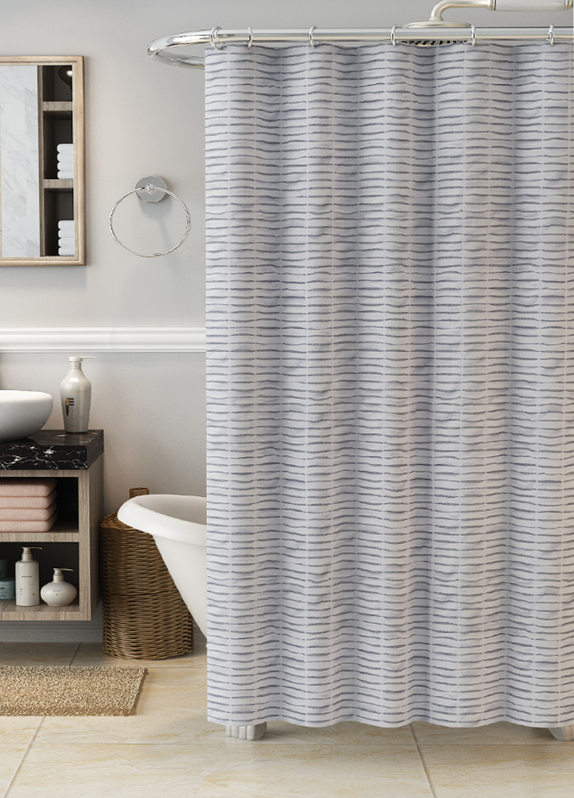 gray shower curtains liners kmart