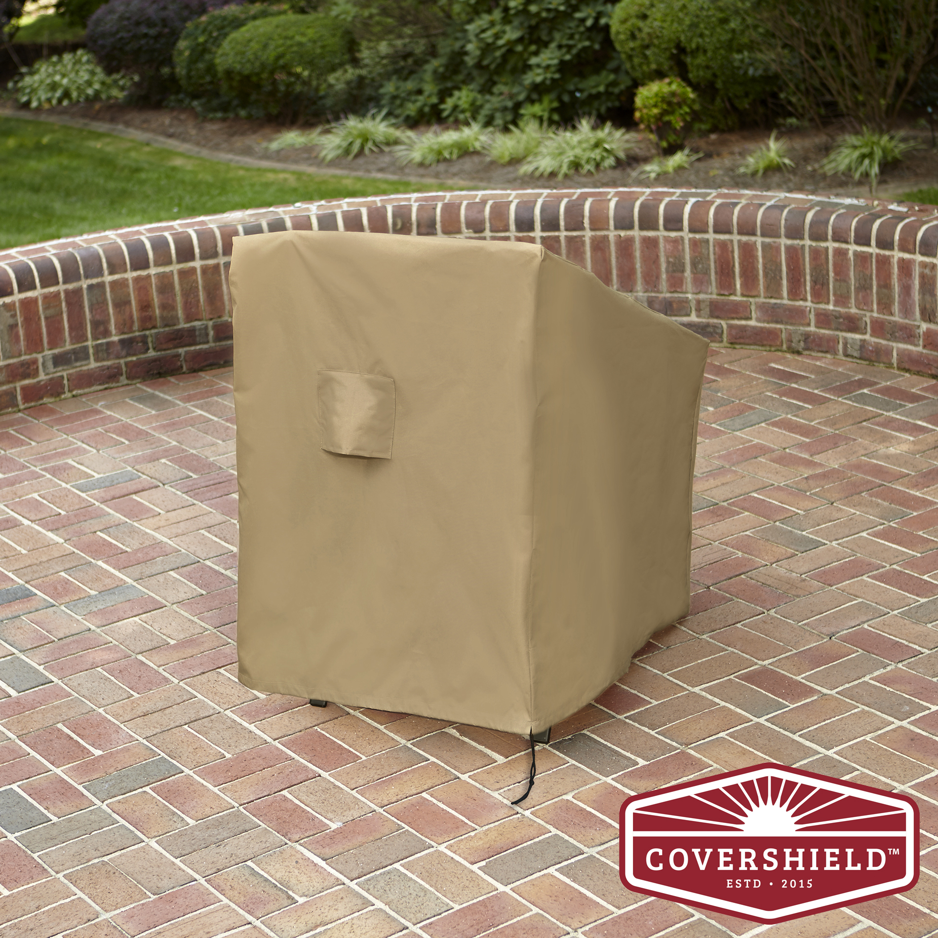 Covershield Stack Bar Chair Patio Furniture Cover Deluxe