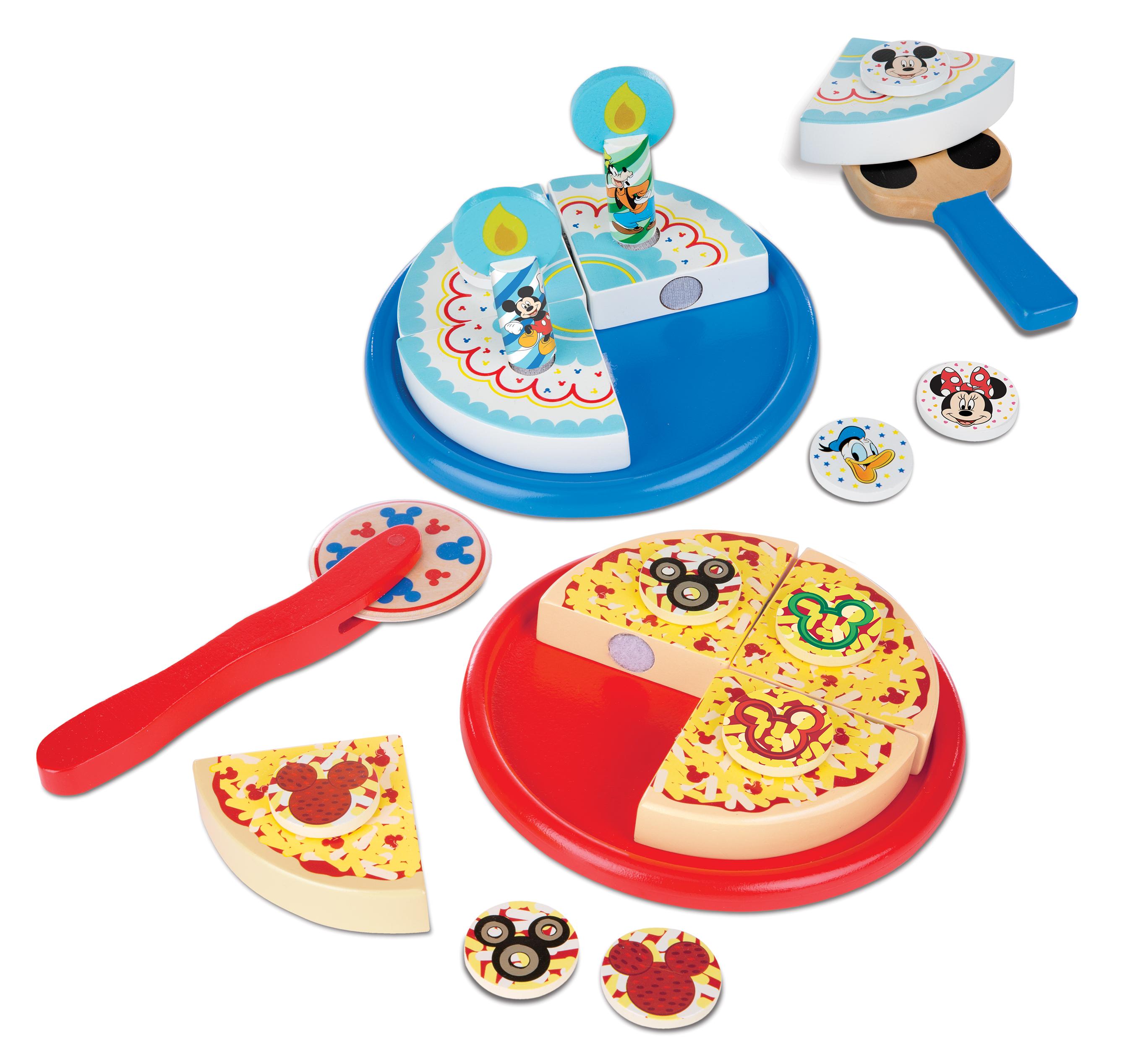 Melissa Amp Doug Mickey Mouse Pizza And Cake