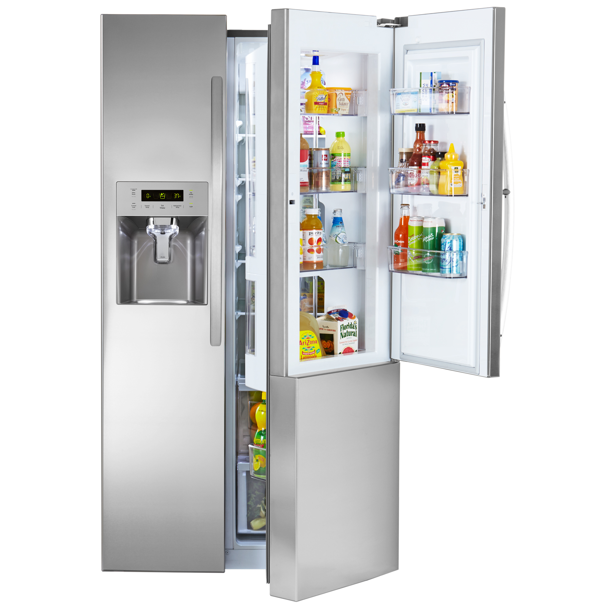 Kenmore 51833 261 Cu Ft Side By Side Refrigerator With