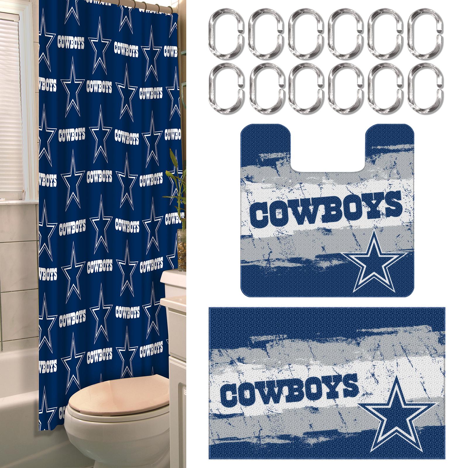 NFL Dallas Cowboys Bathroom Set