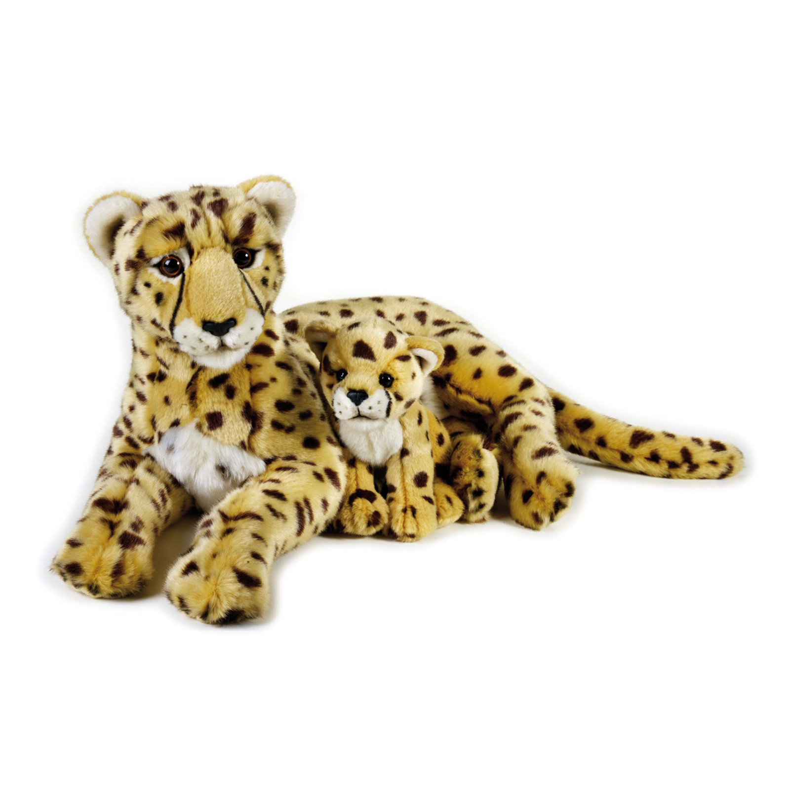 National Geographic Cheetah With Baby Plush