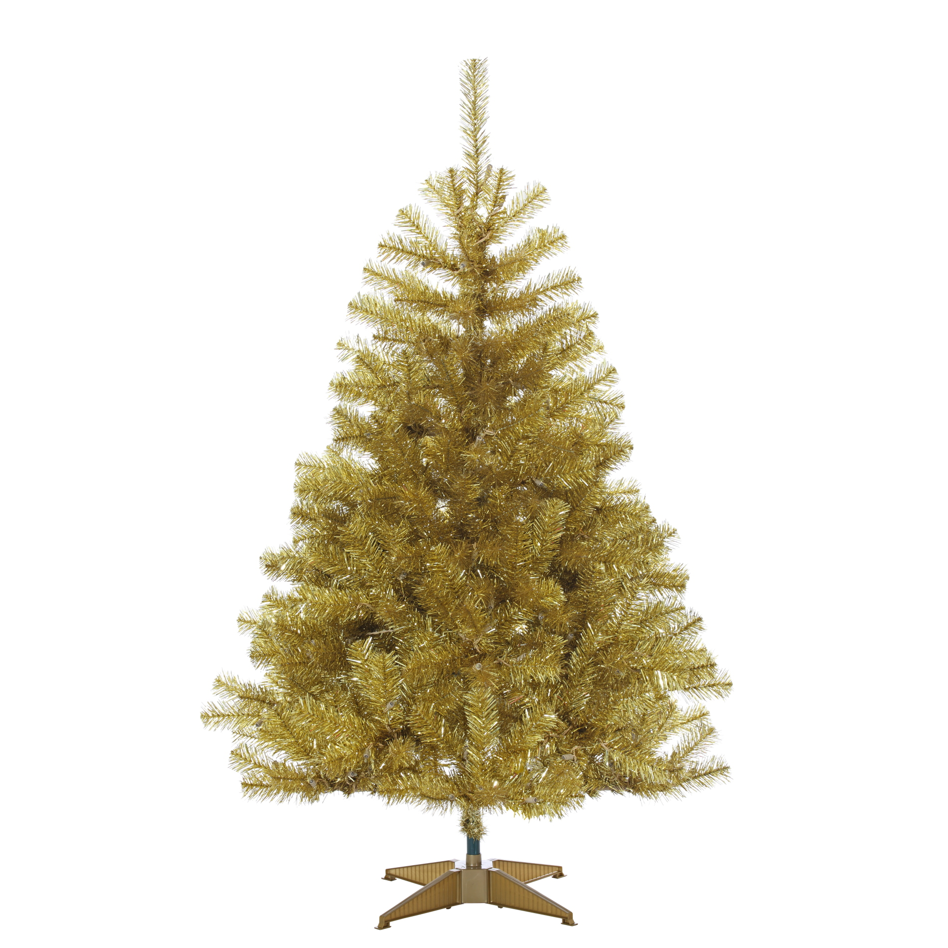 45FT Champagne Gold Tree With 200 Clear Lights