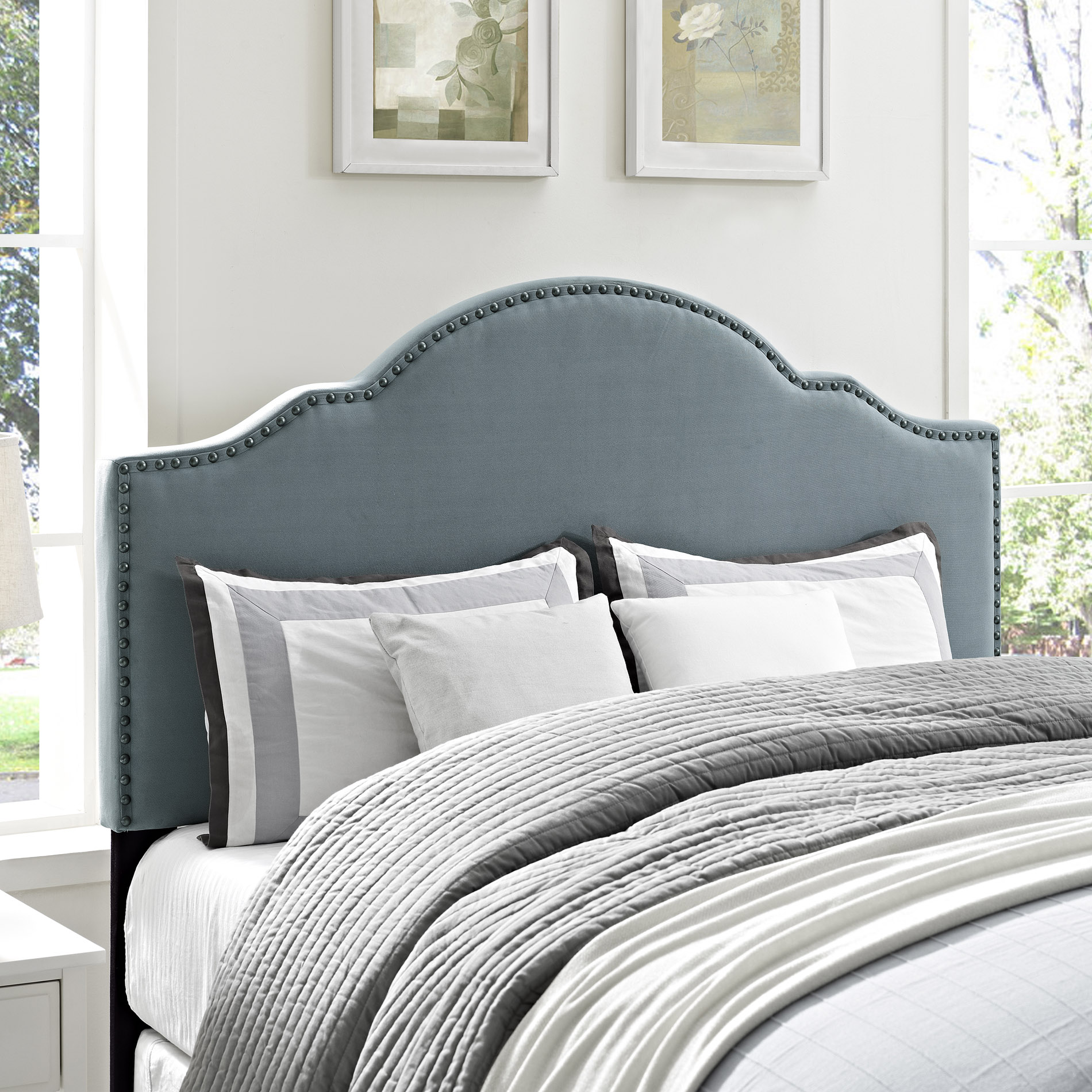 Dorel Sloane Upholstered Headboard Multiple Colors And Sizes