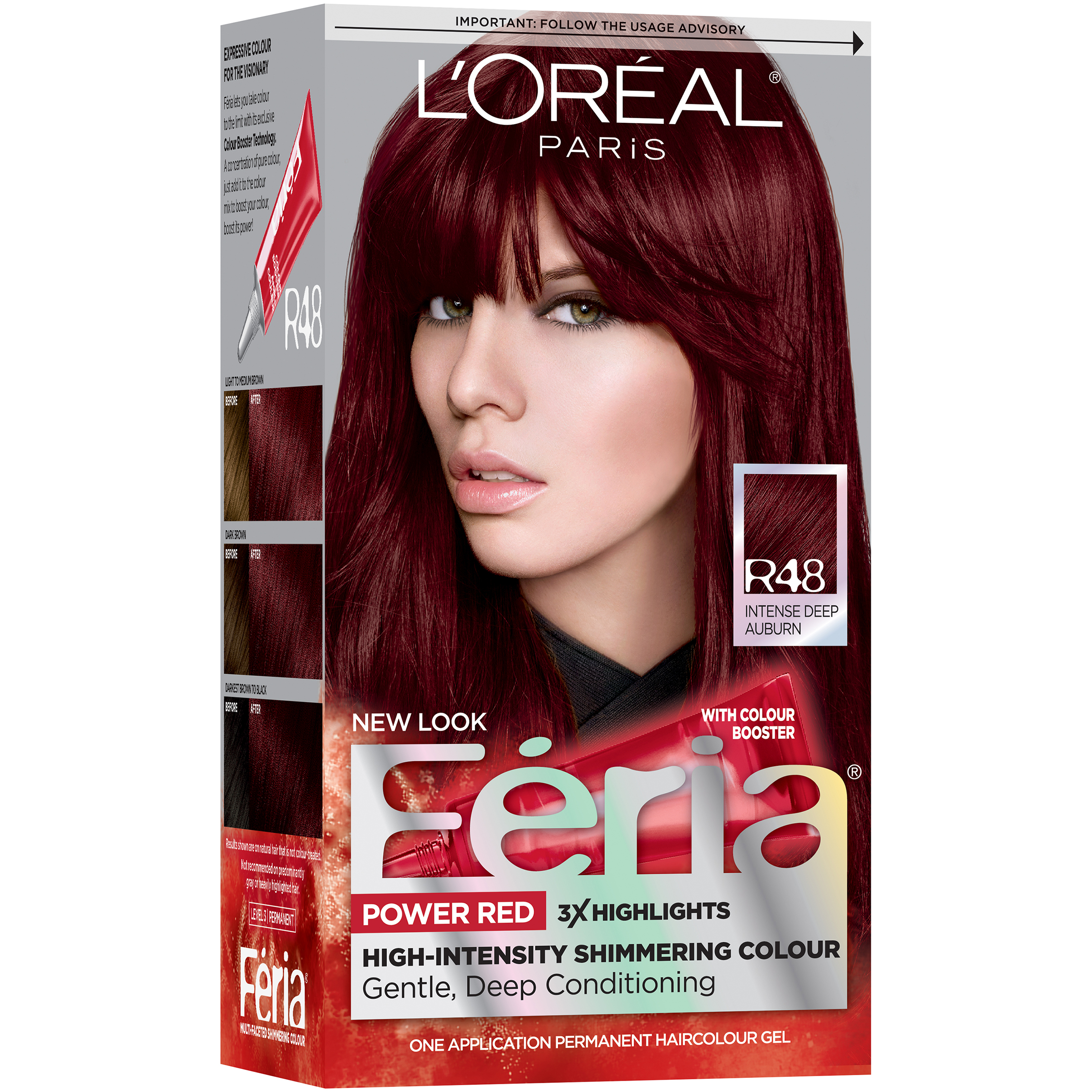 LOreal High Intensity Shimmering Colour Power Red R48