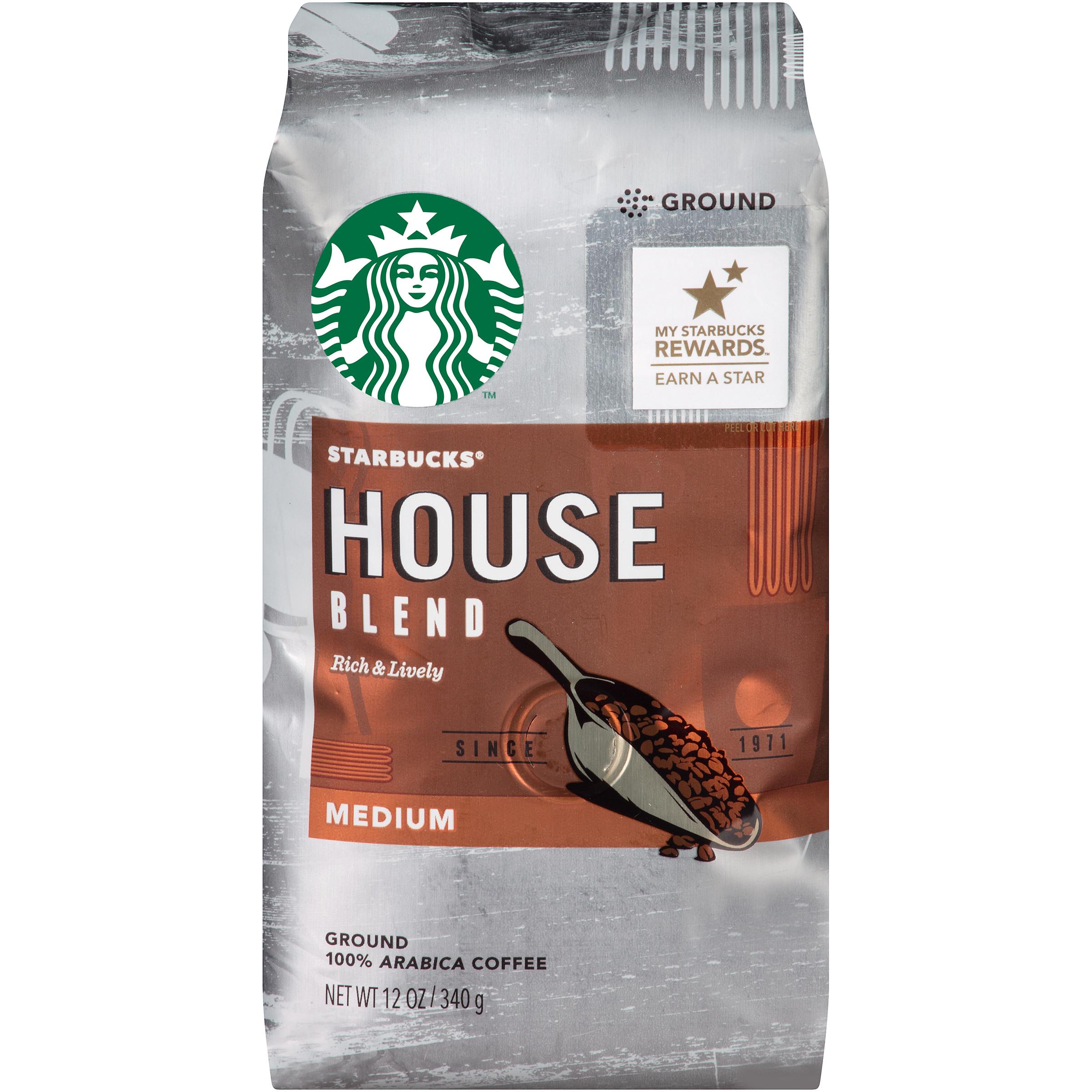 Starbucks Coffee Ground Latin America House Blend