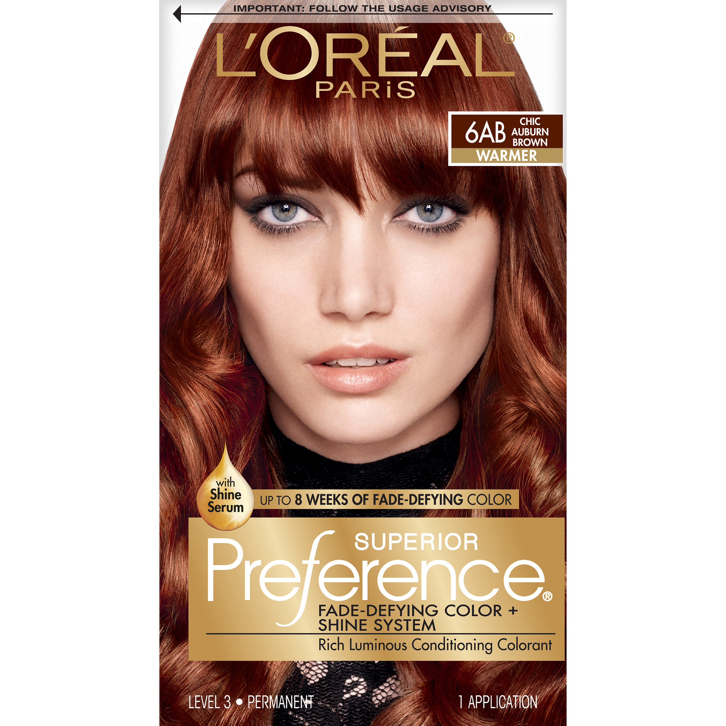 Loreal Auburn Hair Color Shades