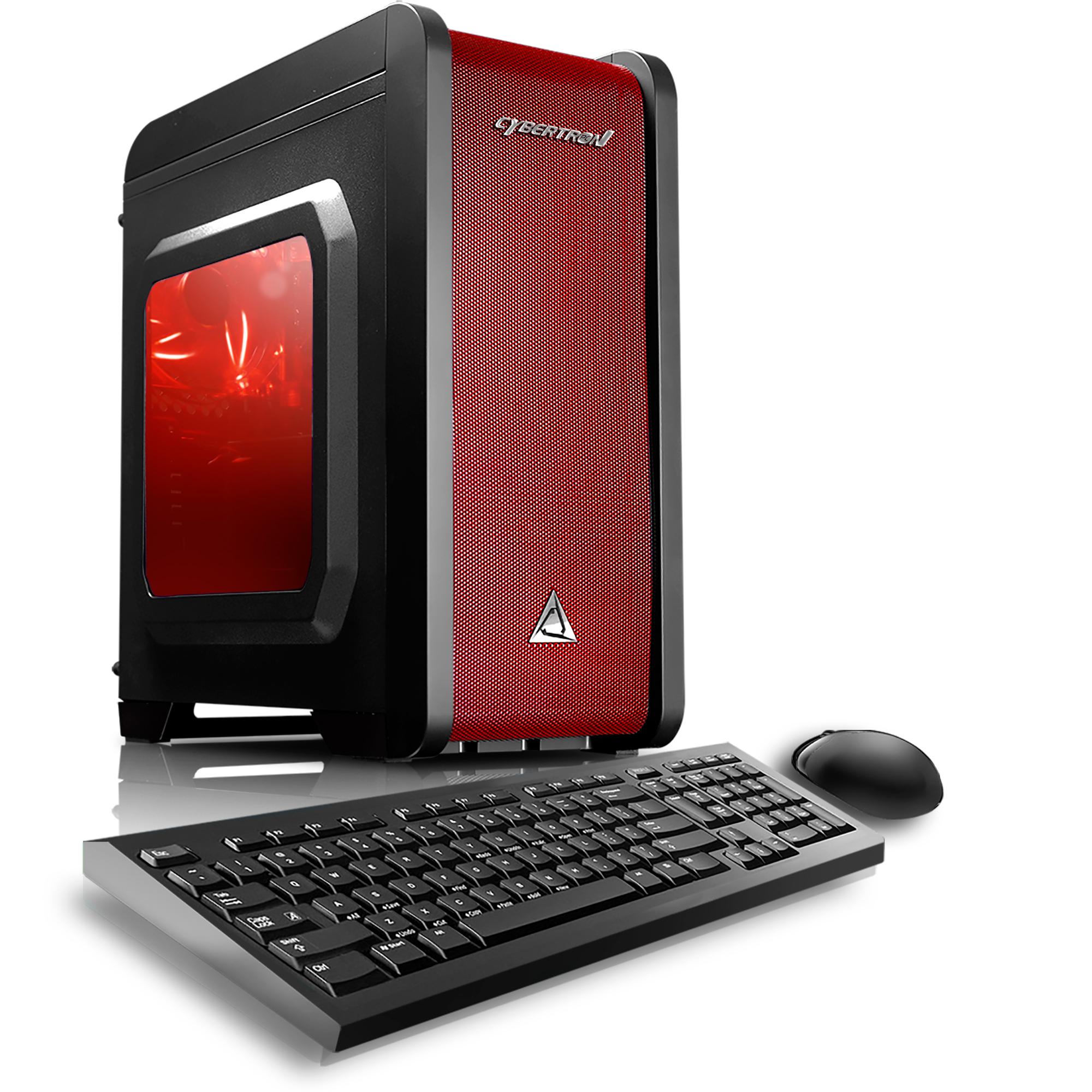 CybertronPC TGMELCQSGT726BR Electrum QS GT7 Red AMD FX