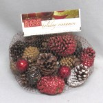 Holiday Cinnamon Scented Christmas Pine Cones