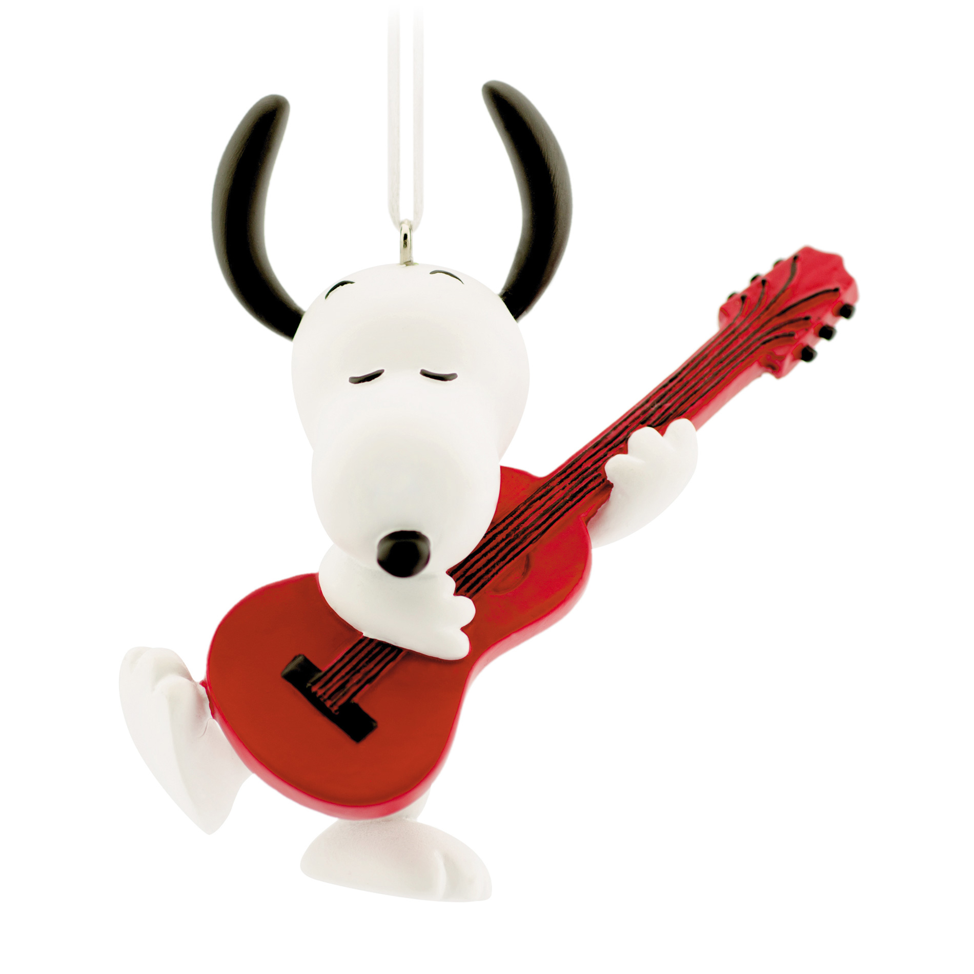 Hallmark Peanuts Snoopy With Guitar Ornament