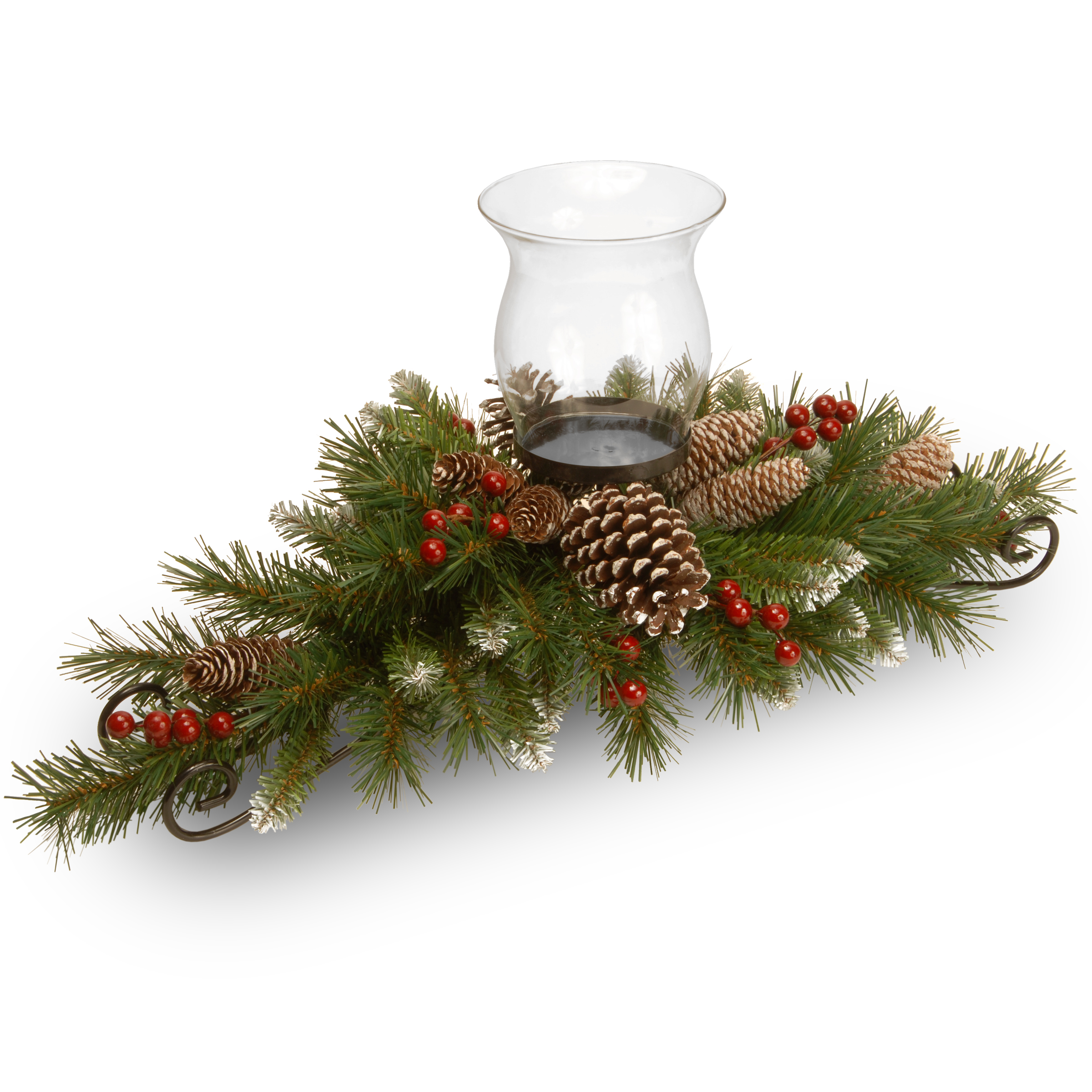National Tree Company 30 Frosted Berry Centerpiece With 1
