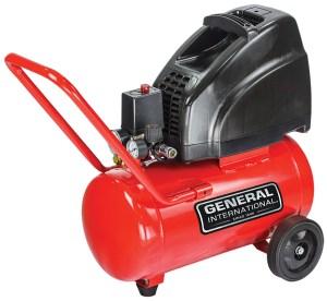General International 15HP 6 Gal Horiz oilfree electric