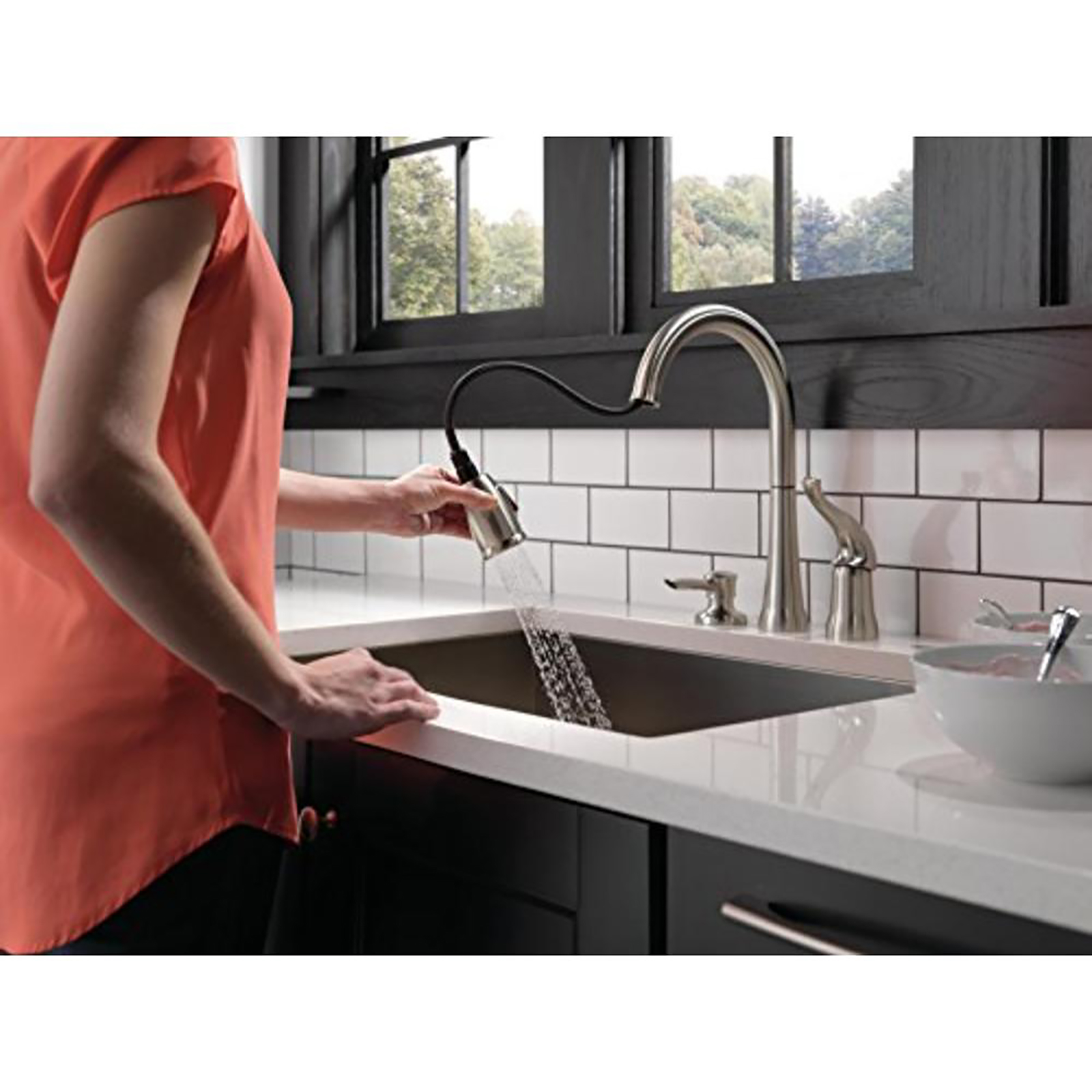 delta faucet kate 14 pull down kitchen