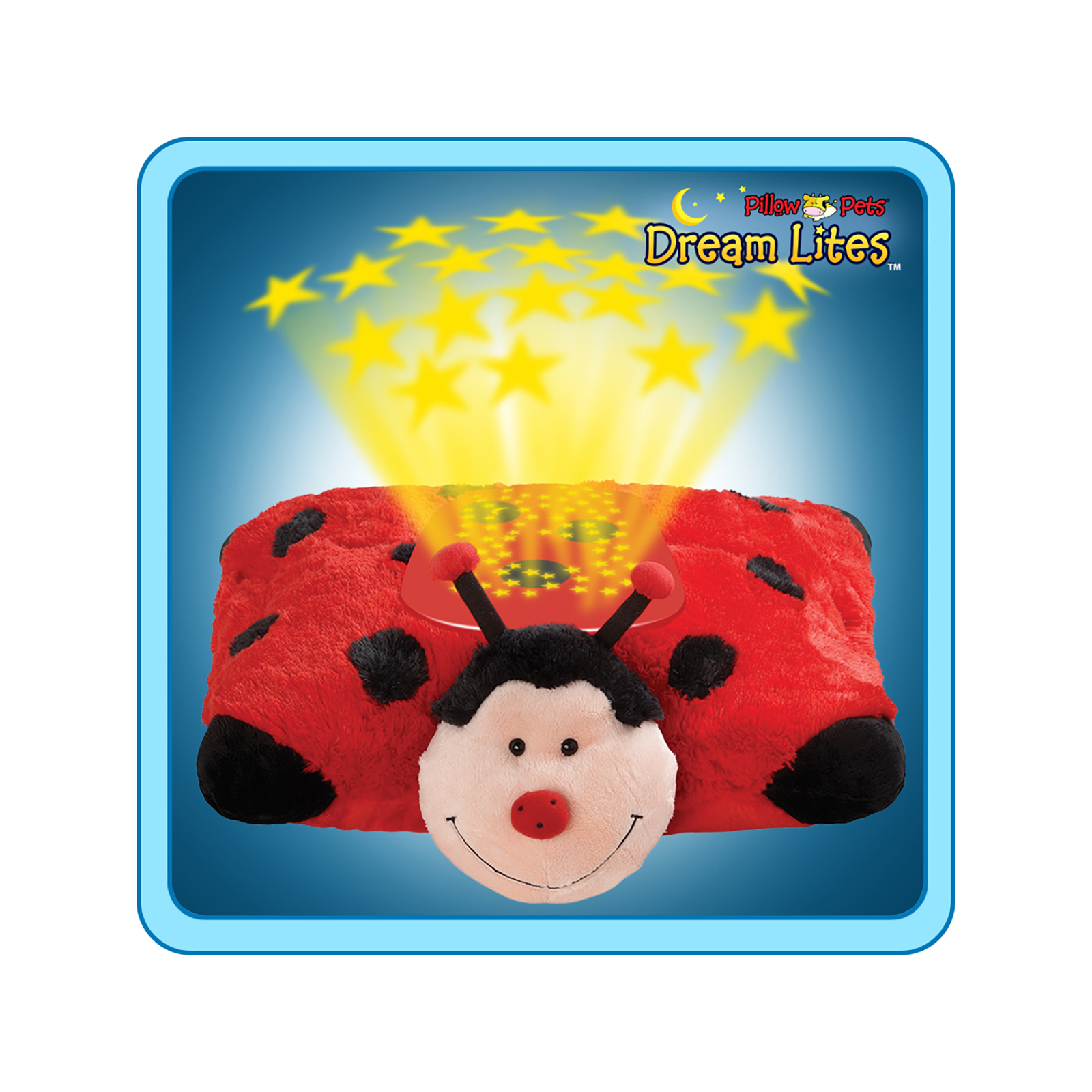 pillowpets ms lady bug dream lites toy