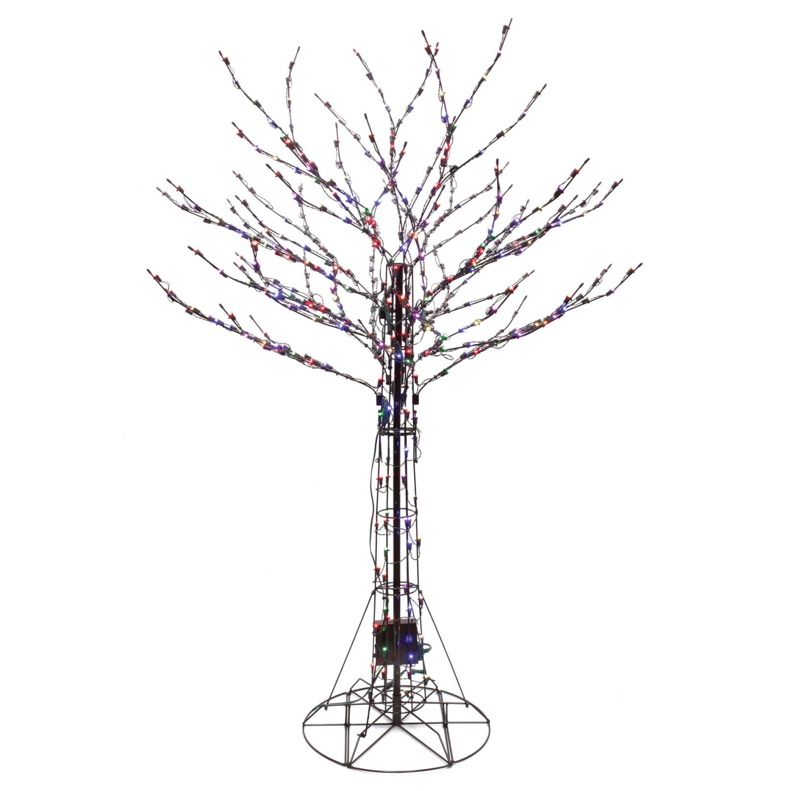 7 Ft Black Christmas Tree