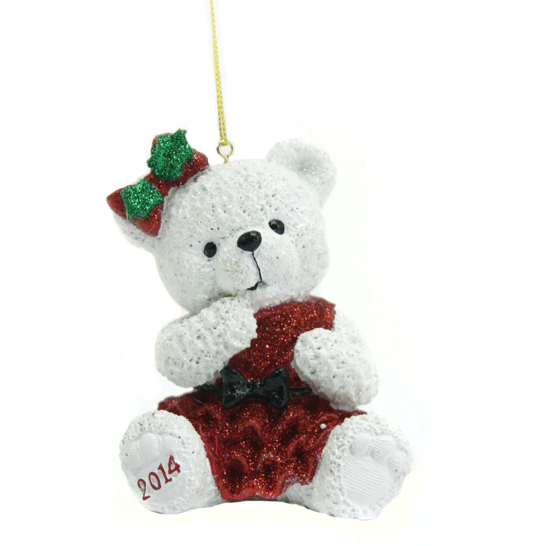 St Jude 2014 Holiday Bear Ornament 35 In Seasonal