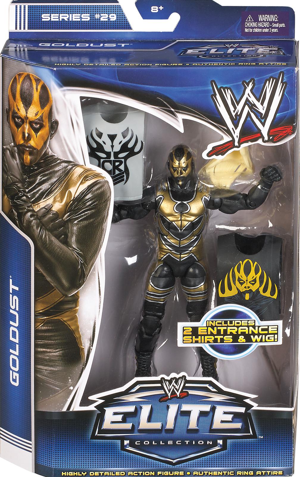 WWE Goldust Elite 29 Toy Wrestling Action Figure