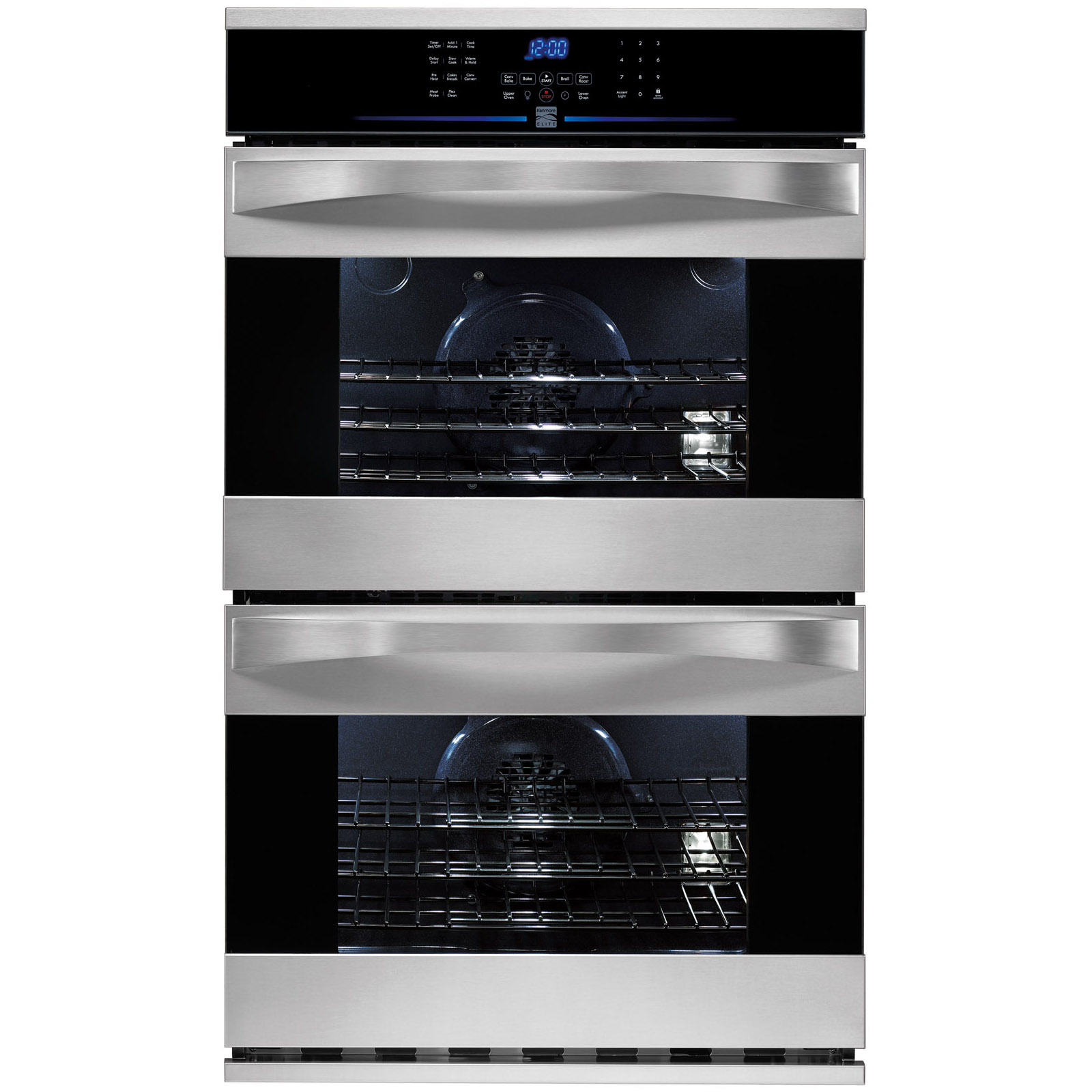Kenmore Elite 30 Electric Double Wall Oven Cooking At Sears