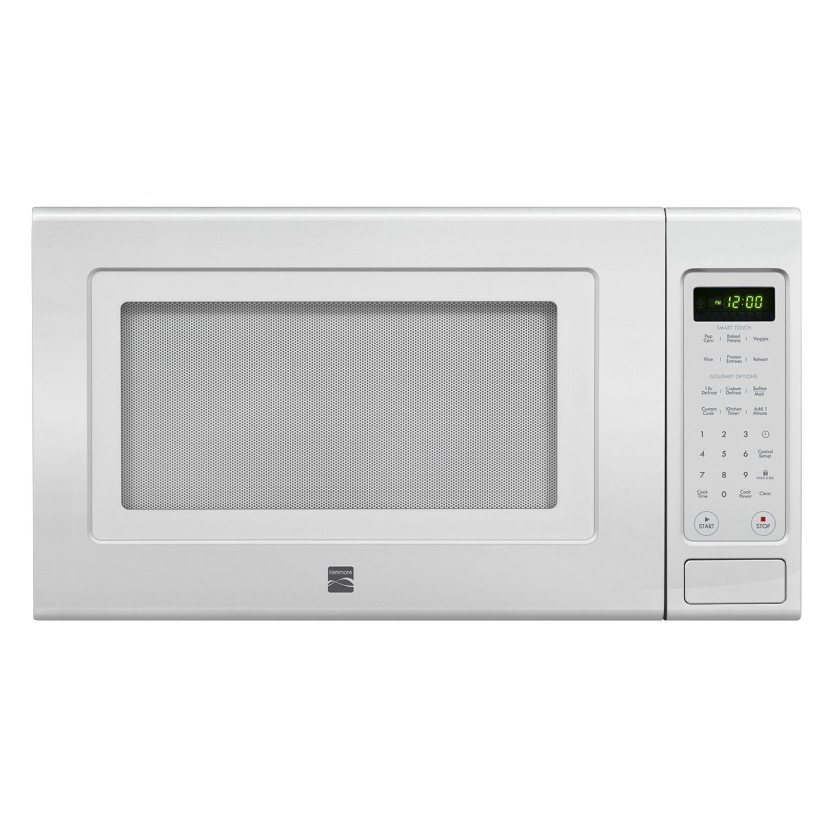 kenmore countertop microwaves sears