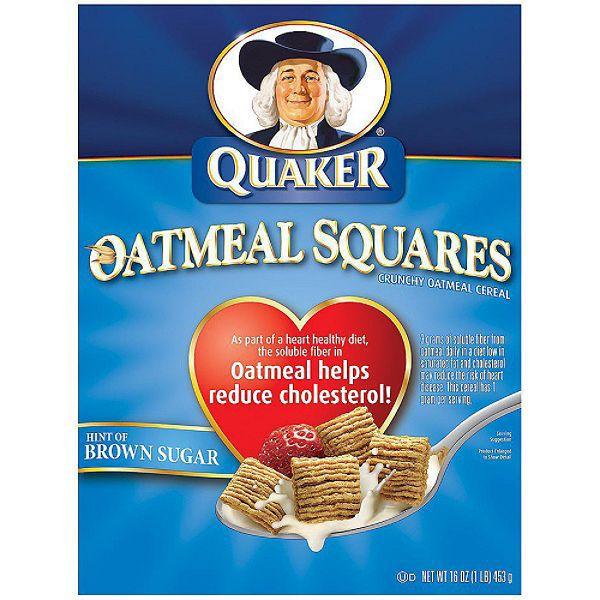 Quaker Essentials Oatmeal Squares Cereal 16 Oz