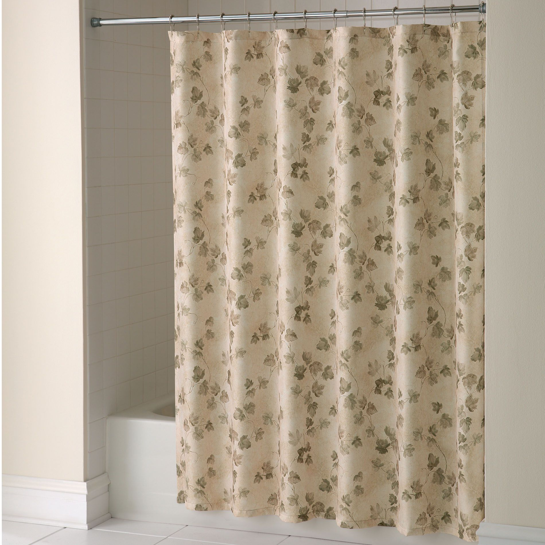 Essential Home Shower Curtain Classic Ivy Fabric Home