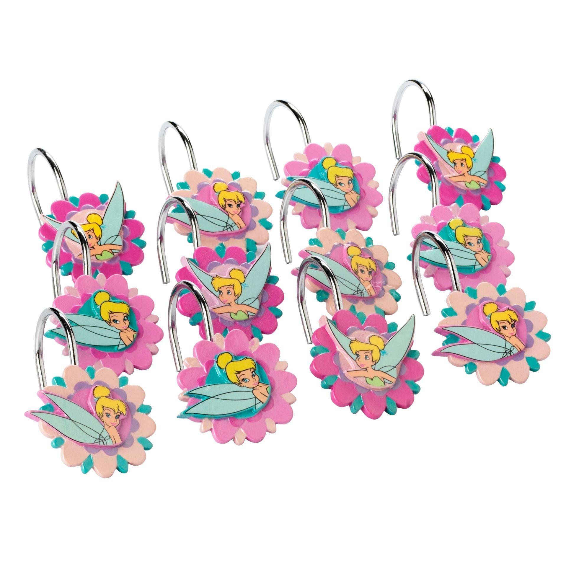 Disney Tinkerbell Shower Curtain Hooks