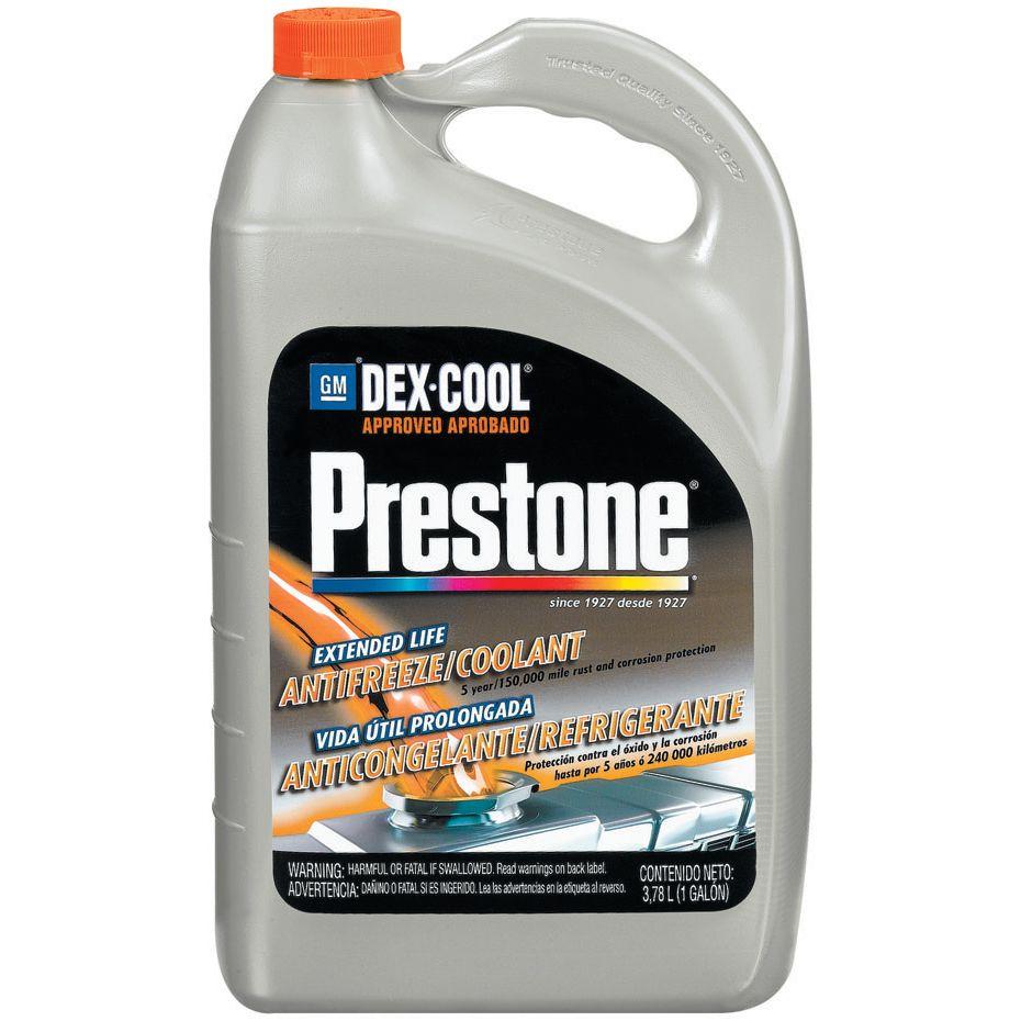 Prestone Dex Cool Extended Life Antifreeze Coolant 1 Gallon