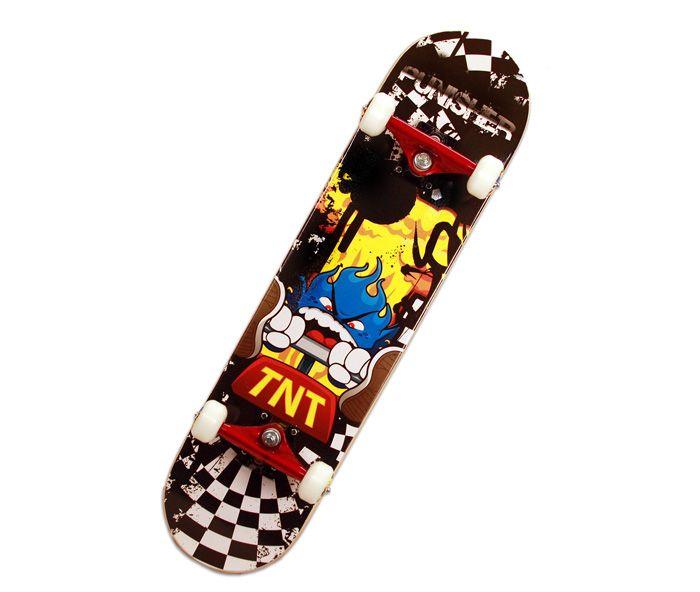 Punisher Skateboards Tnt 31 Inch Double Kicktail Pro