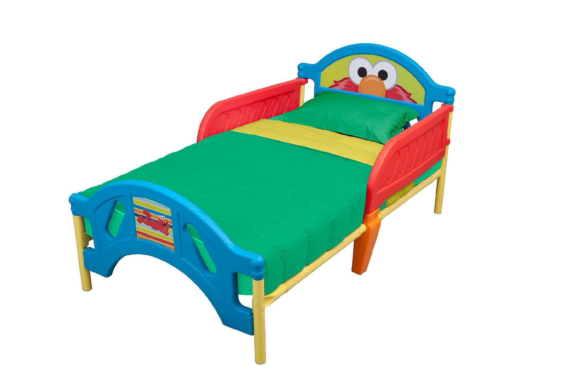 Delta Children Sesame Street Toddler Bed Baby Toddler