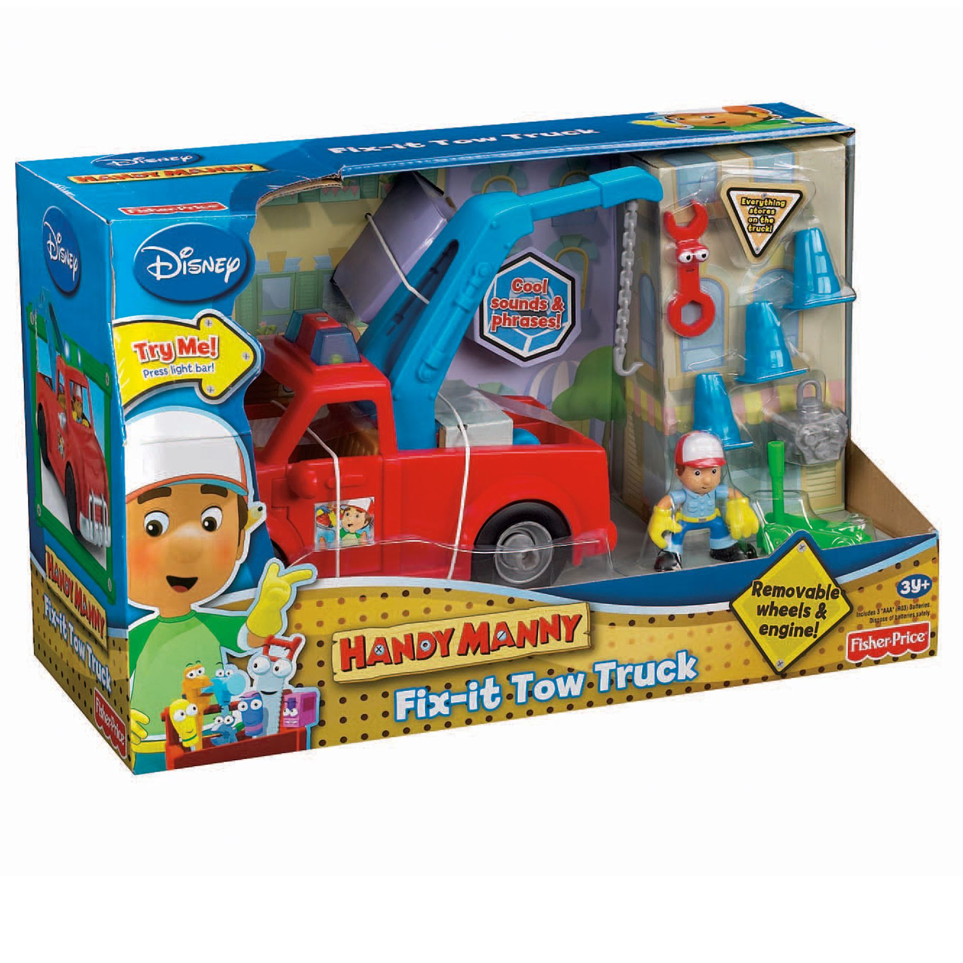 Disney Handy Manny Fix It Tow Truck