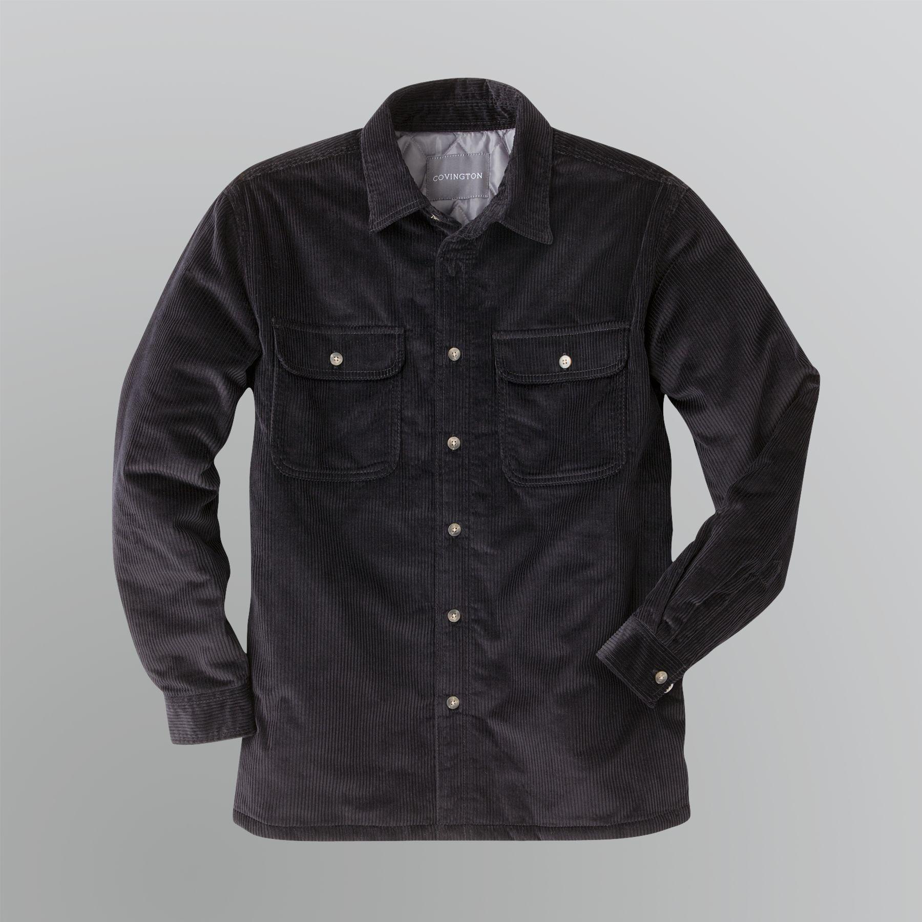 Covington Mens Corduroy Shirt Jacket