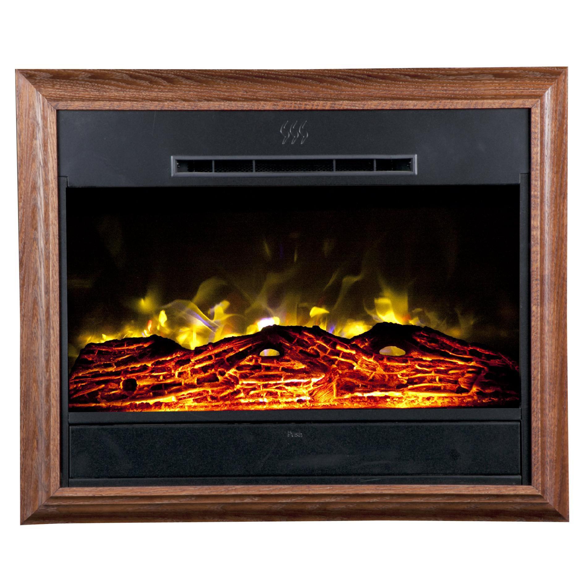Heat Surge Roll N Glow Electric Fireplace