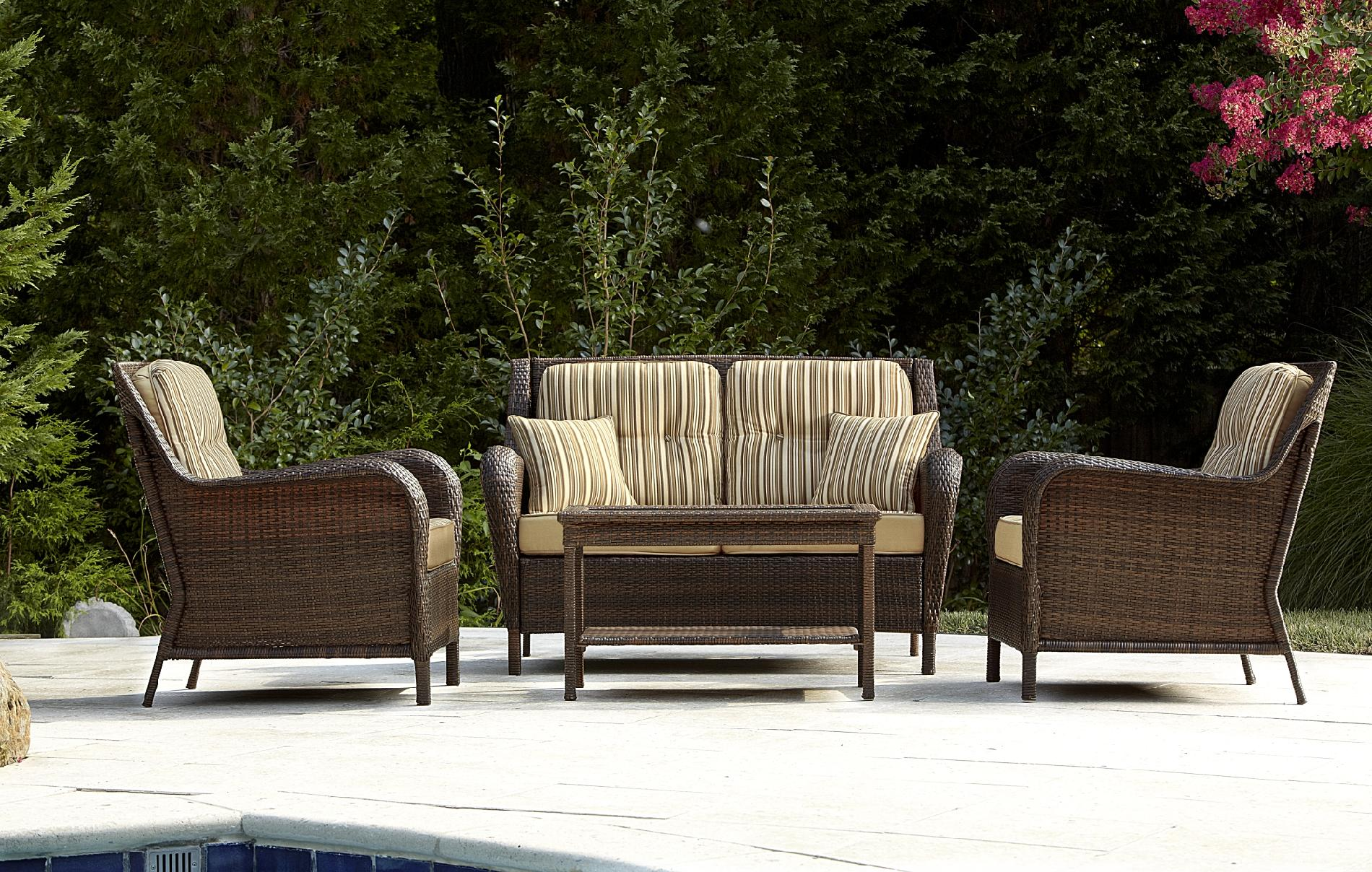 Mayfield 4 Pc. Deep Seating Set: Make Your Outdoors Fun