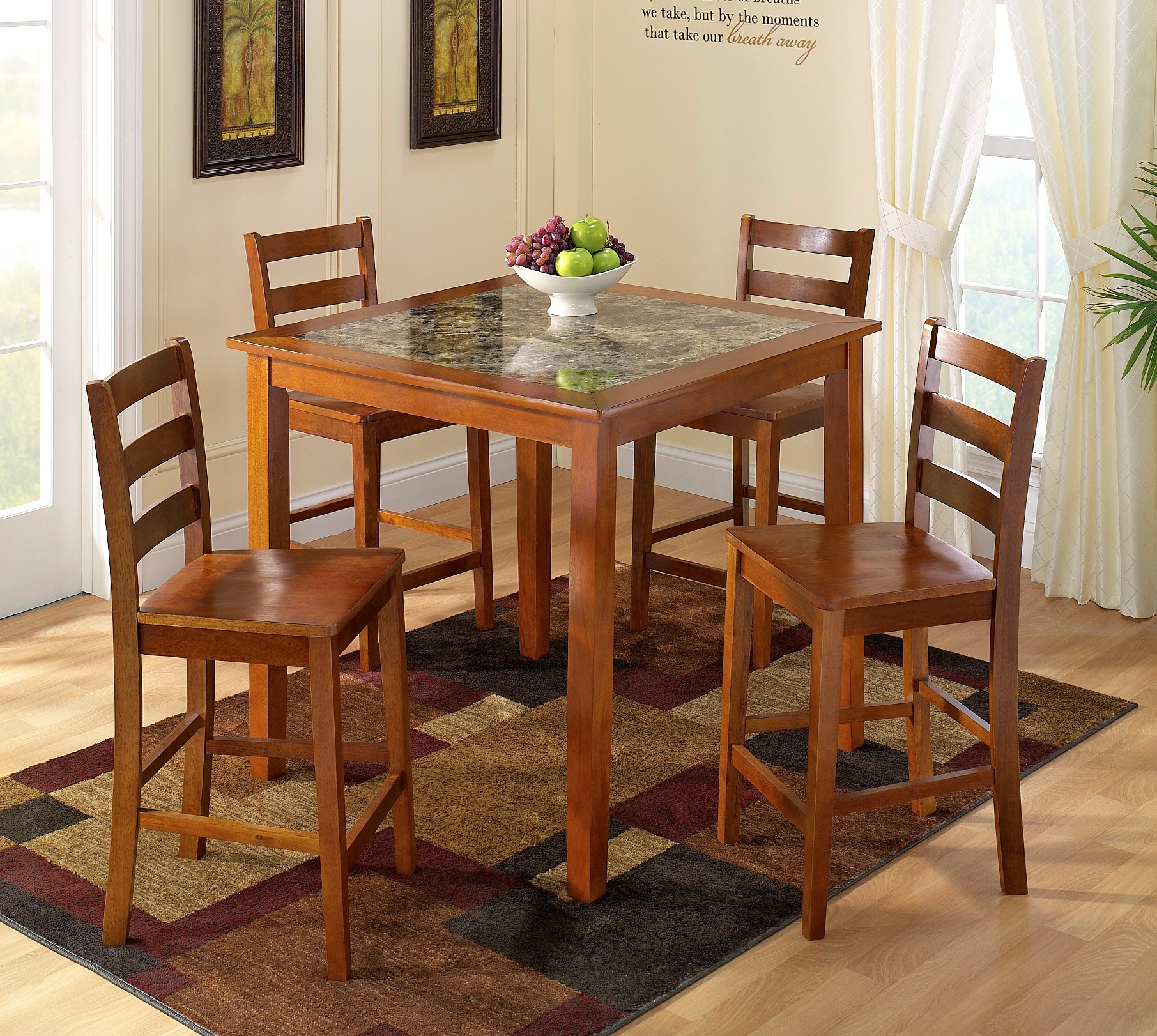 Mainstays Piece Card Table And Chair Set