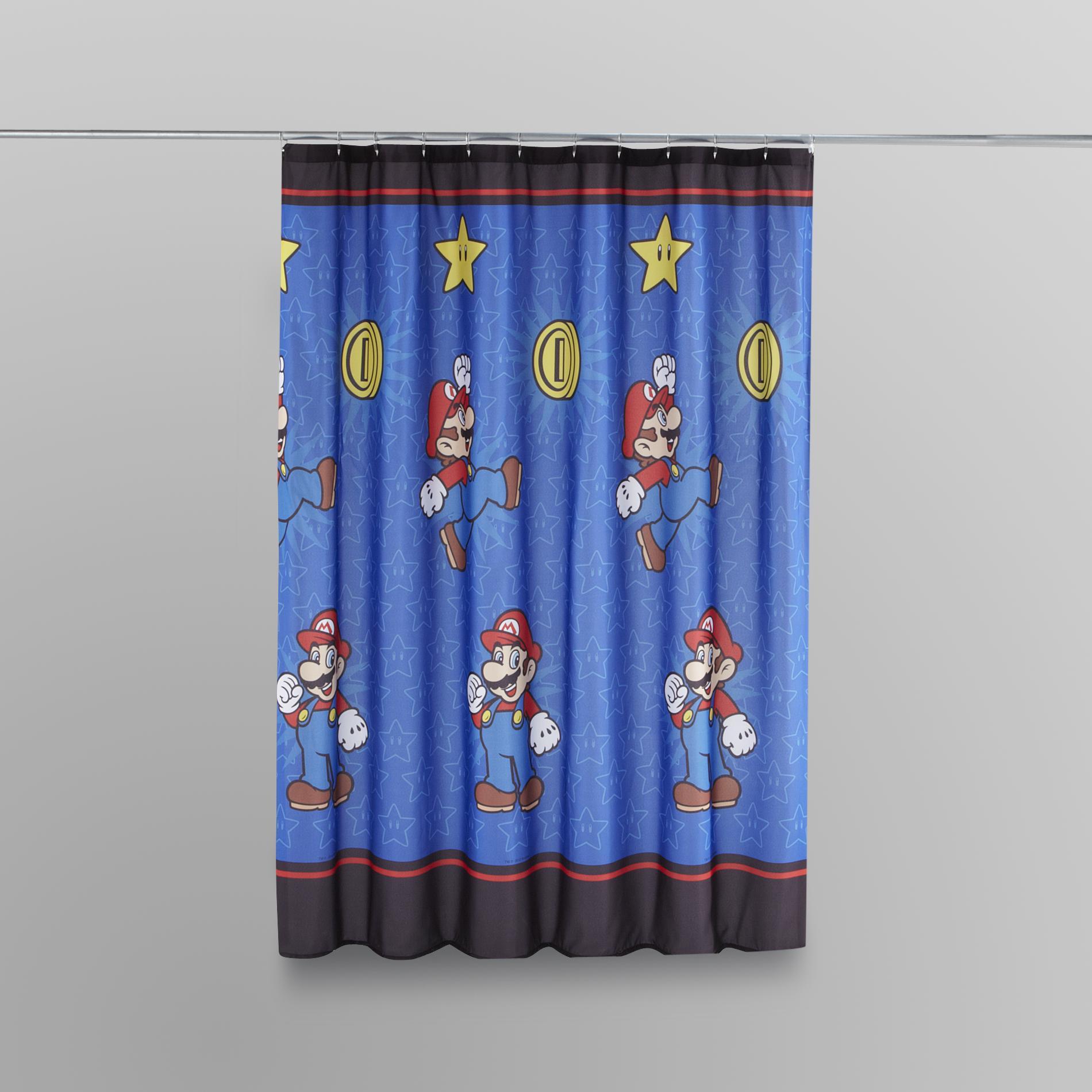 Nintendo Super Mario Shower Curtain