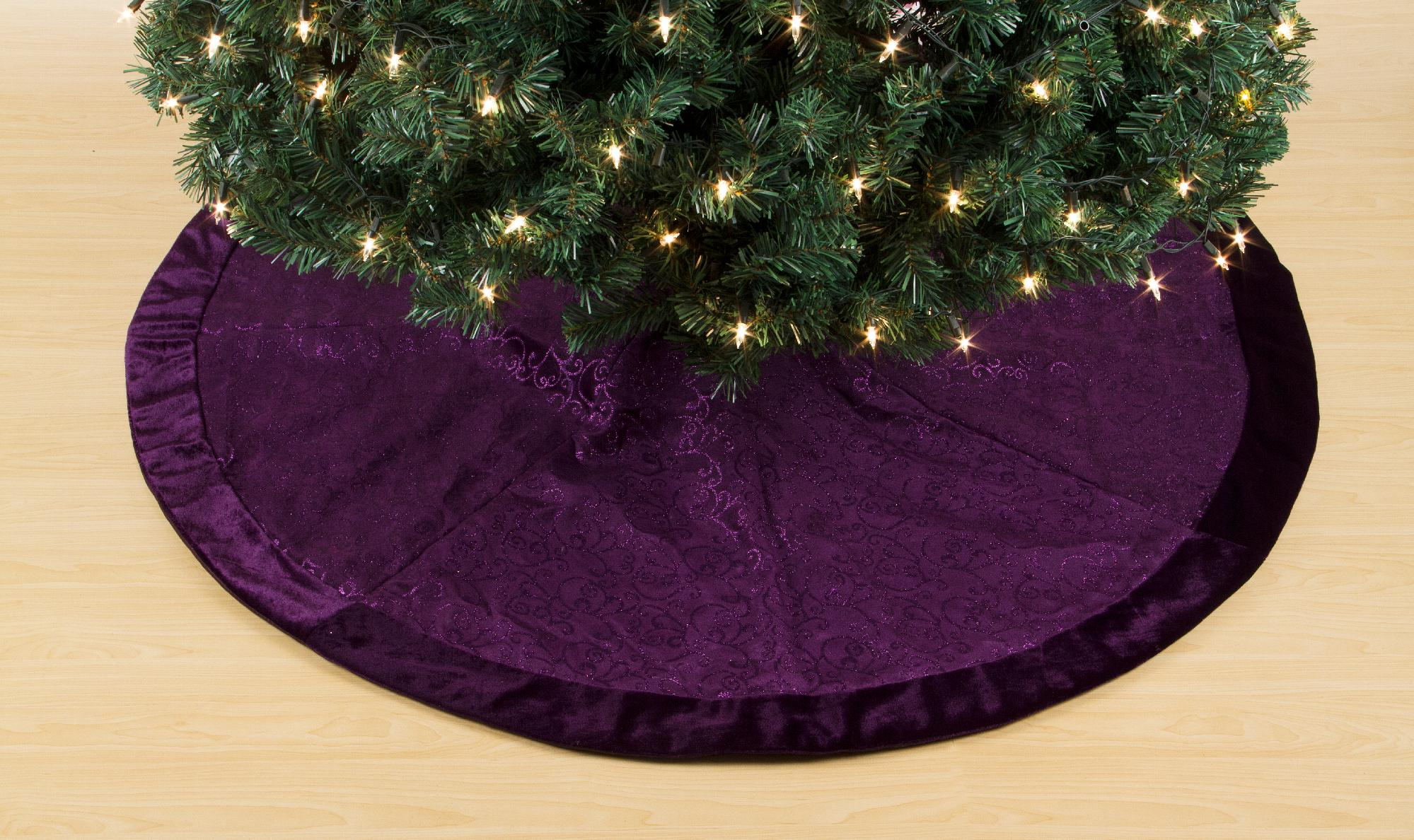 Trim A Home Trim A Home 50in Tree Skirt Seasonal