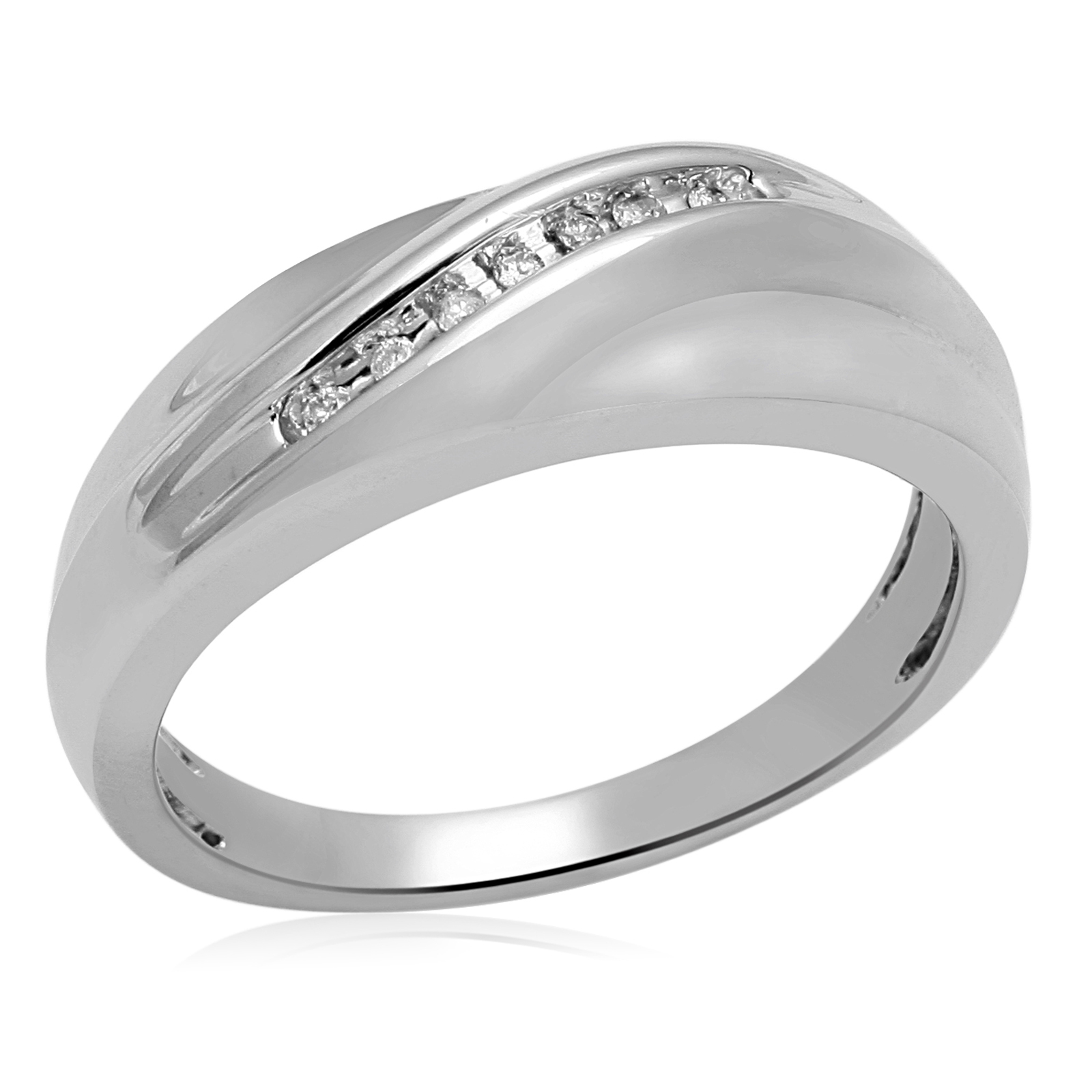 Mens Diamond Wedding Band Male Diamond