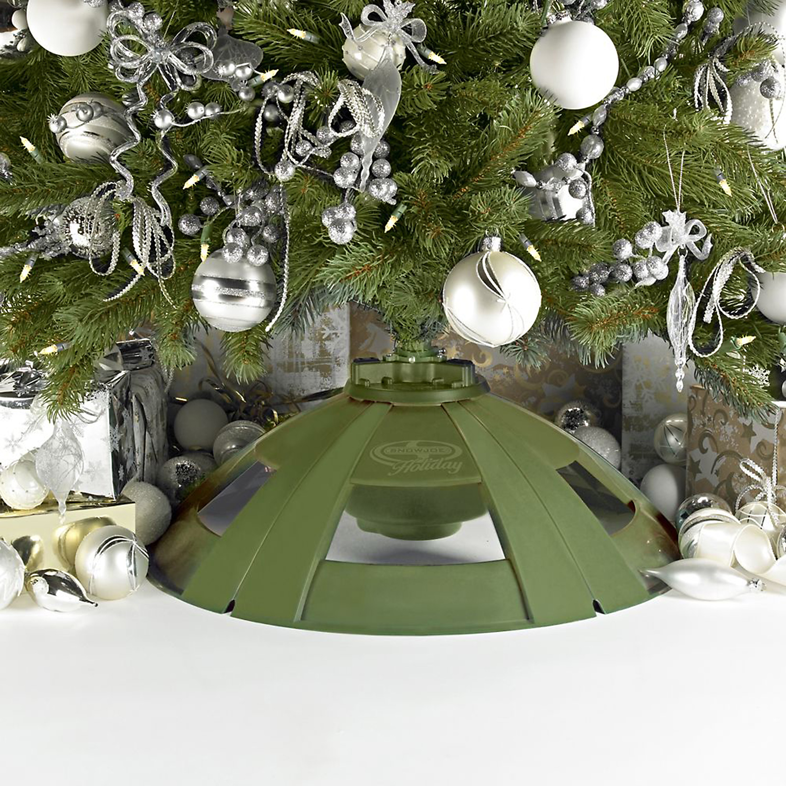 Snow Joe Holiday Rotating Tree Stand For Artificial Trees