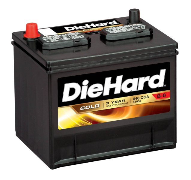 Car Batteries   Auto Batteries DieHard Gold Automotive Battery   Group Size JC 35  Price with Exchange