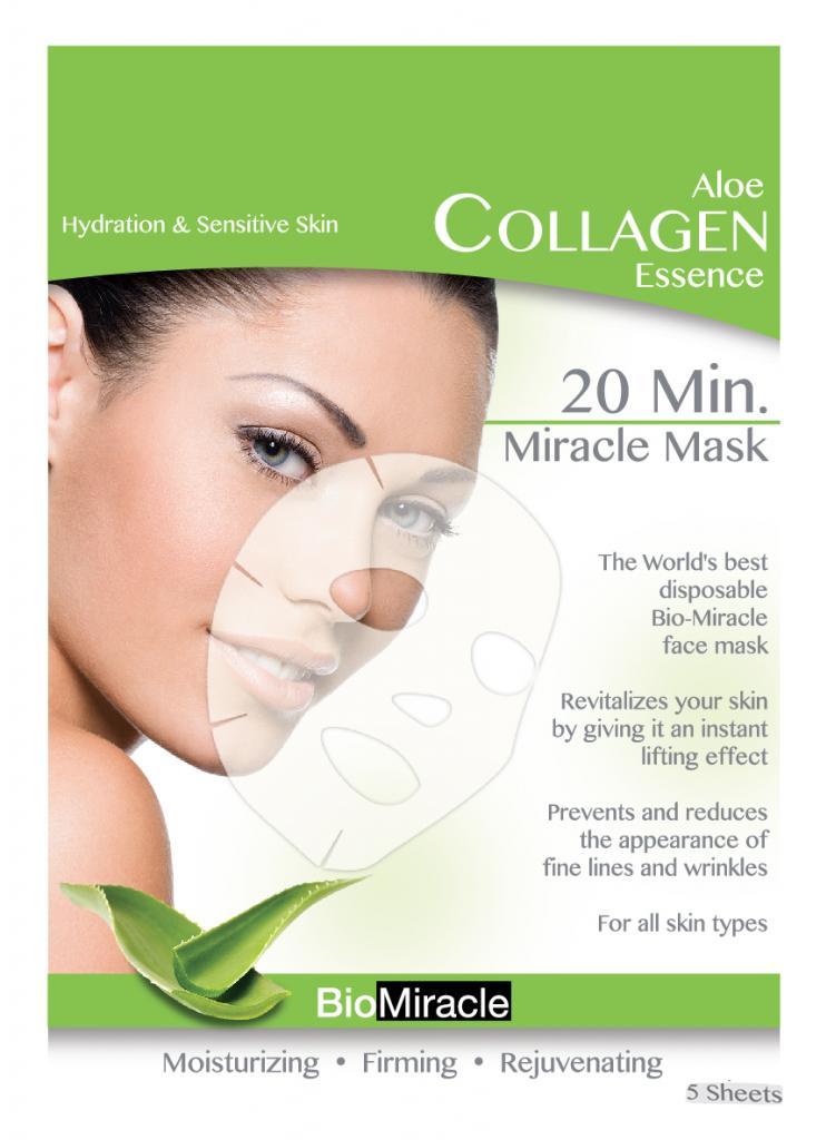 Bio Miracle Anti Aging Amp Moisturizing Face Mask Aloe