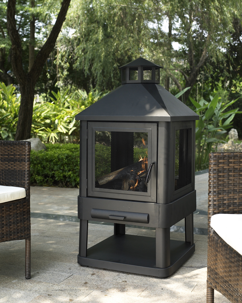 Crosley Outdoor Monticello Firepit Outdoor Living